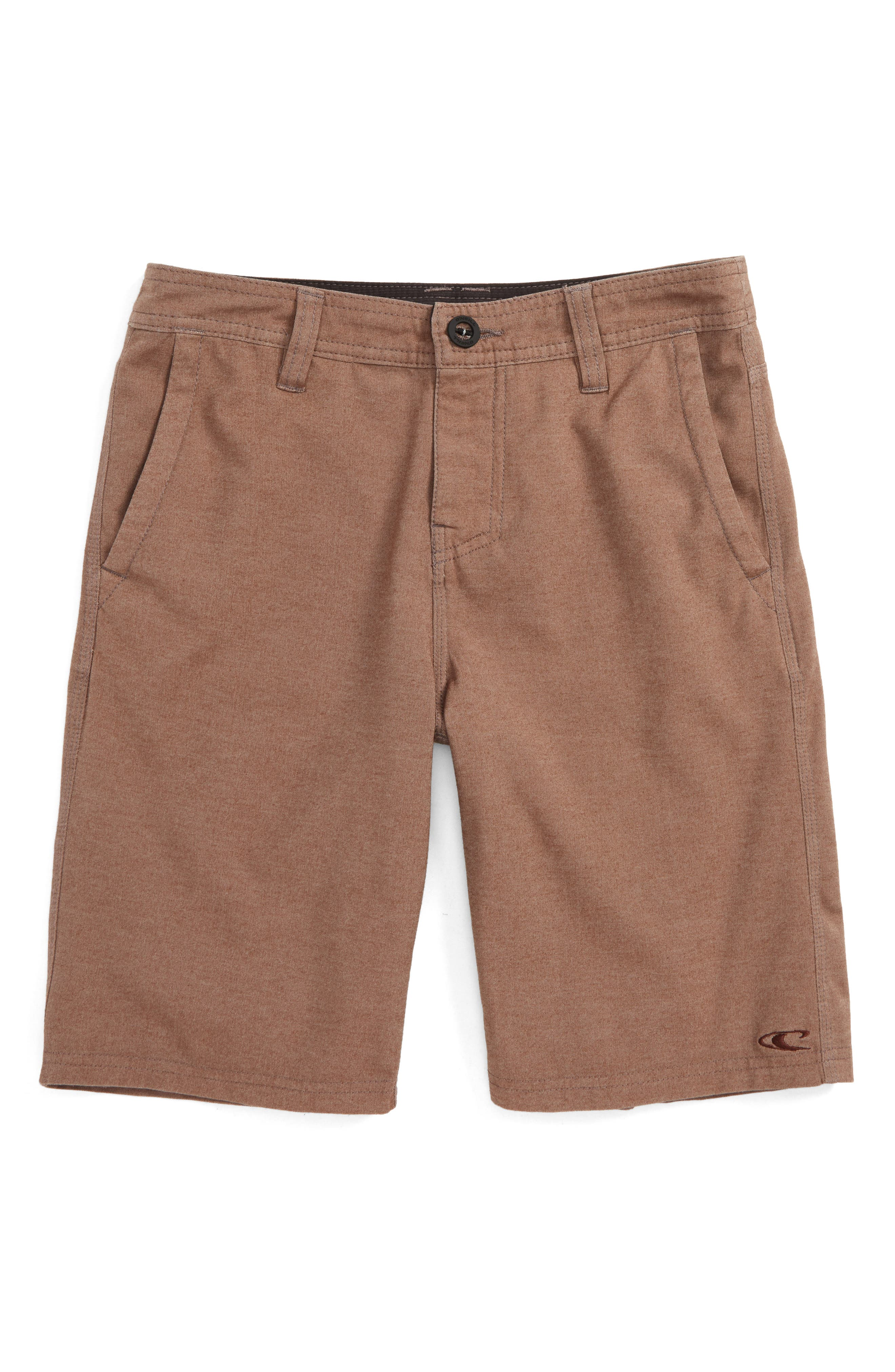 O'Neill Locked Overdye Hybrid Shorts (Big Boys)