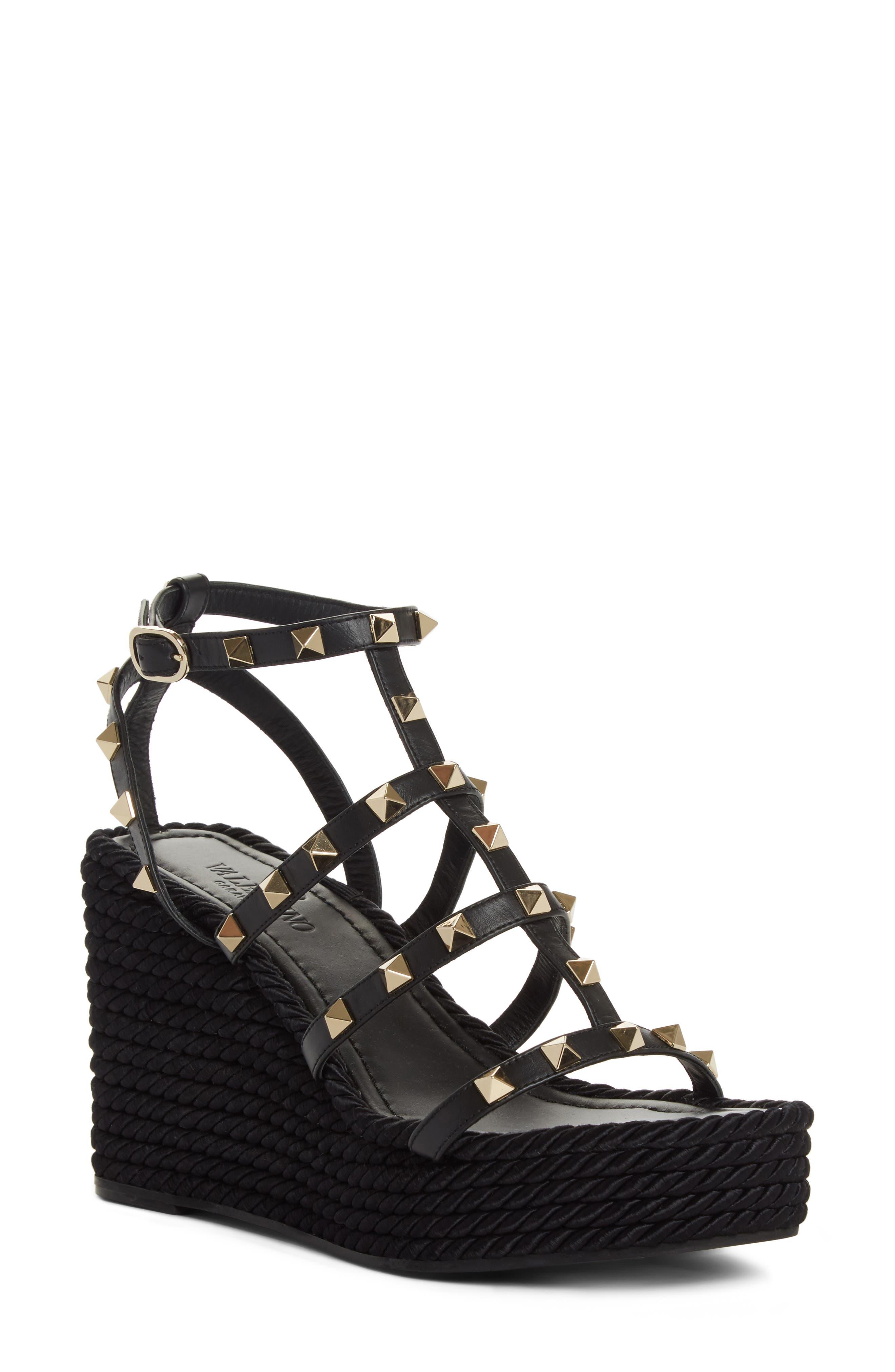 Valentino Torchon Wedge Platform Sandal (Women)
