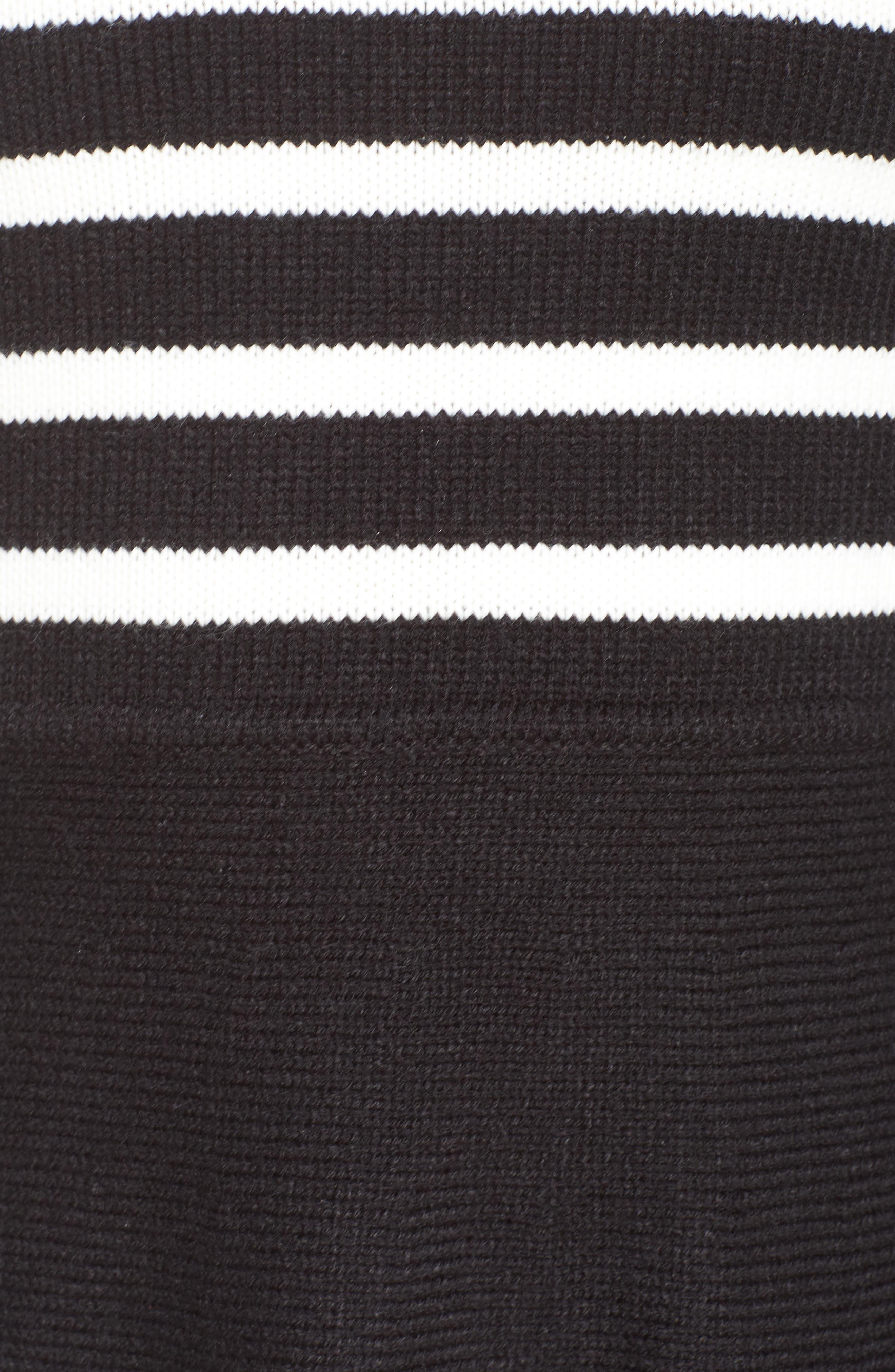 Alternate Image 5  - Eliza J Fit & Flare Sweater Dress (Regular & Petite)