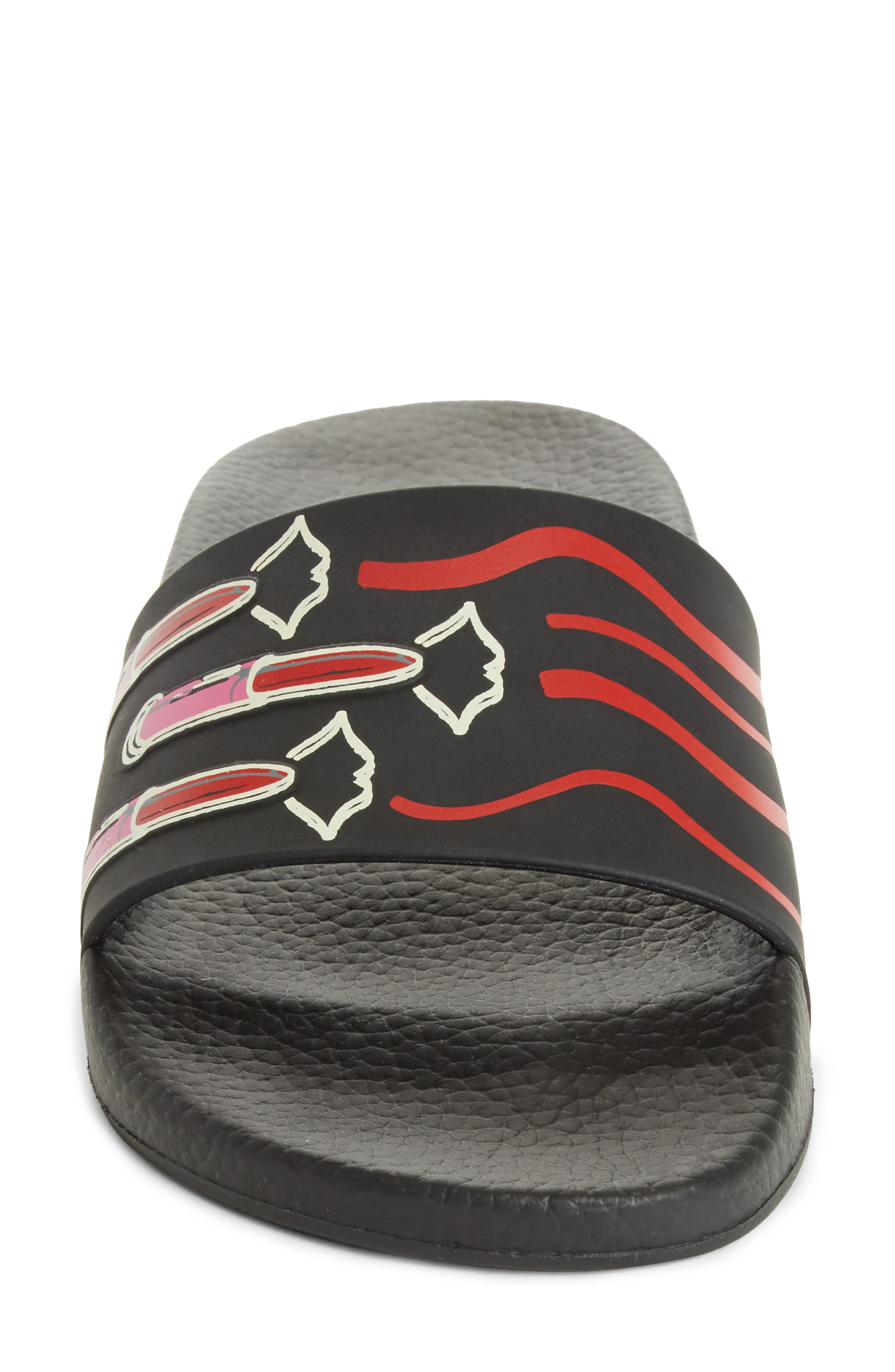 Alternate Image 4  - VALENTINO GARAVANI Lipstick Slide Sandal (Women)