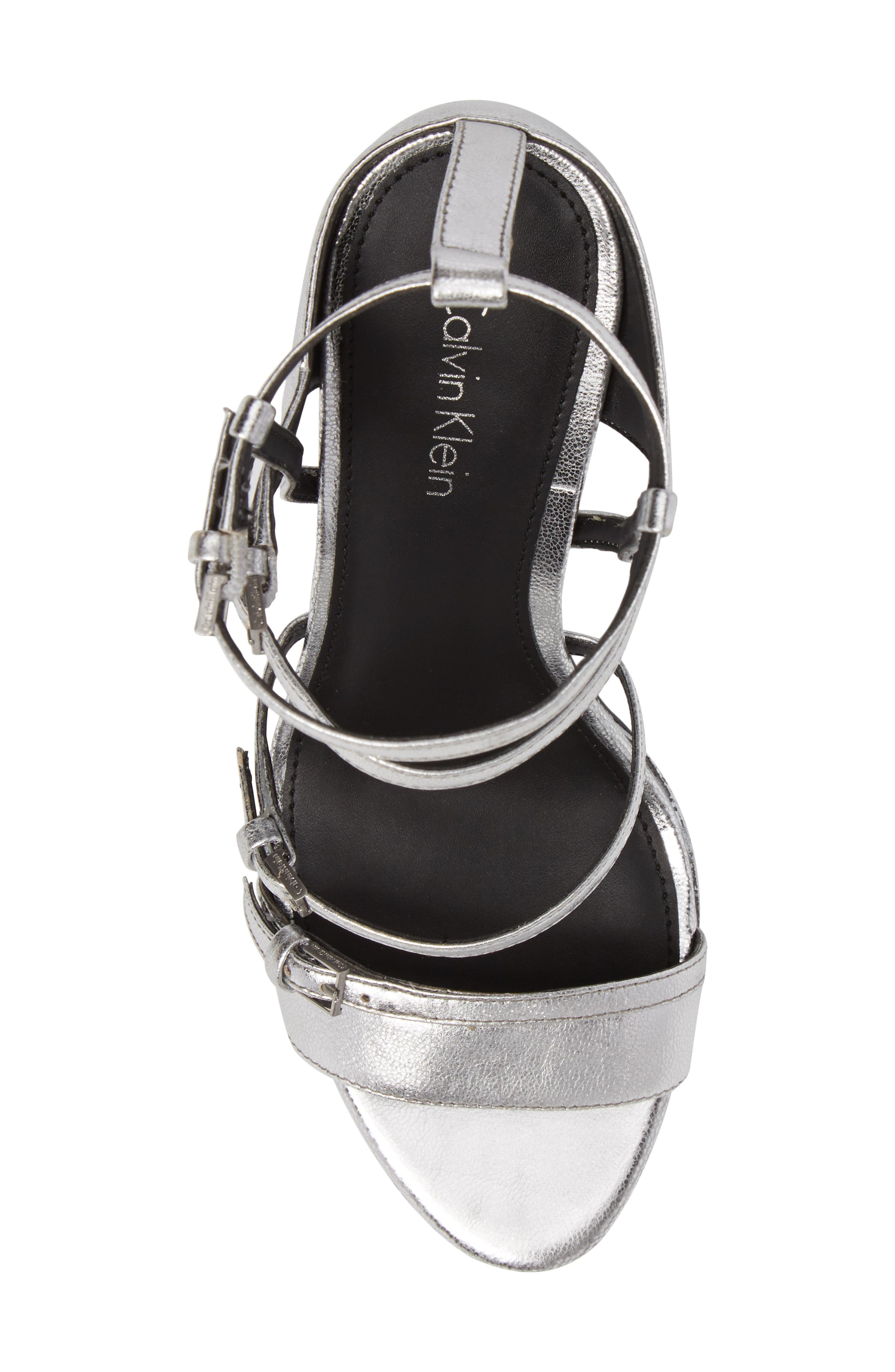 Alternate Image 5  - Calvin Klein Shantell Strappy Platform Sandal (Women)