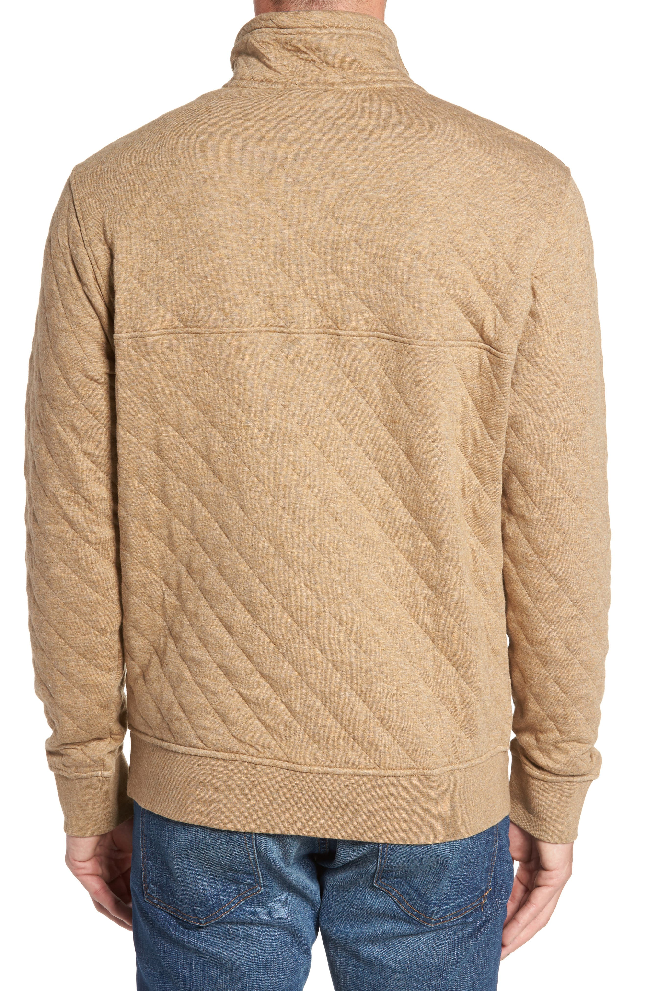 Alternate Image 2  - Patagonia Snap-T® Quilted Fleece Pullover