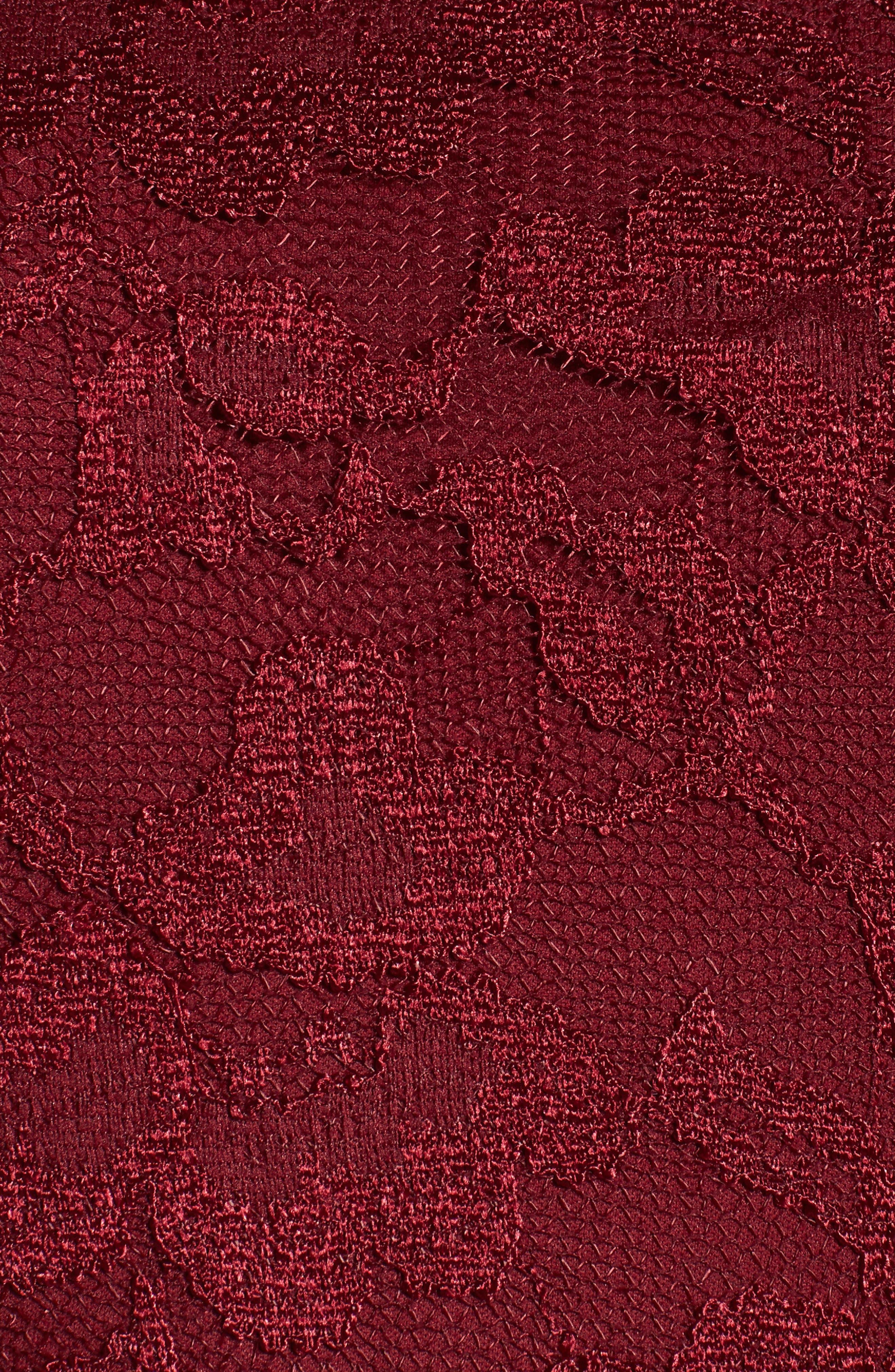 Alternate Image 5  - Chetta B Lace Sheath Dress