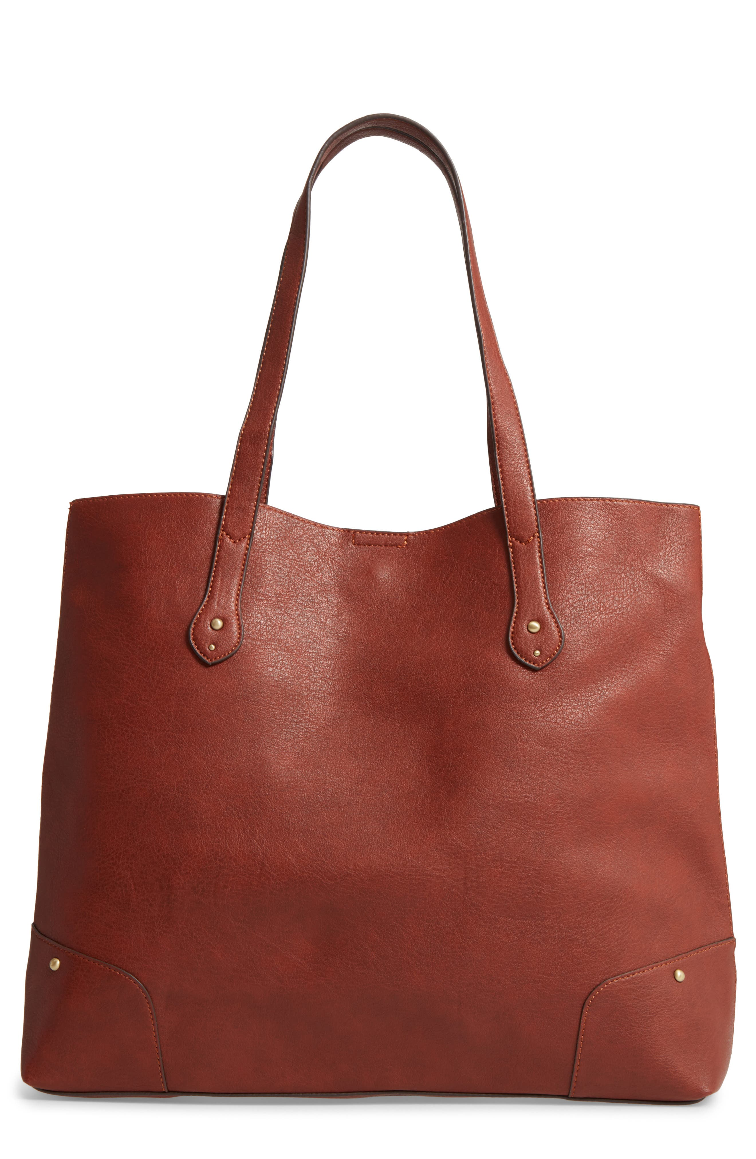 Sole Society Rome Faux Leather Tote