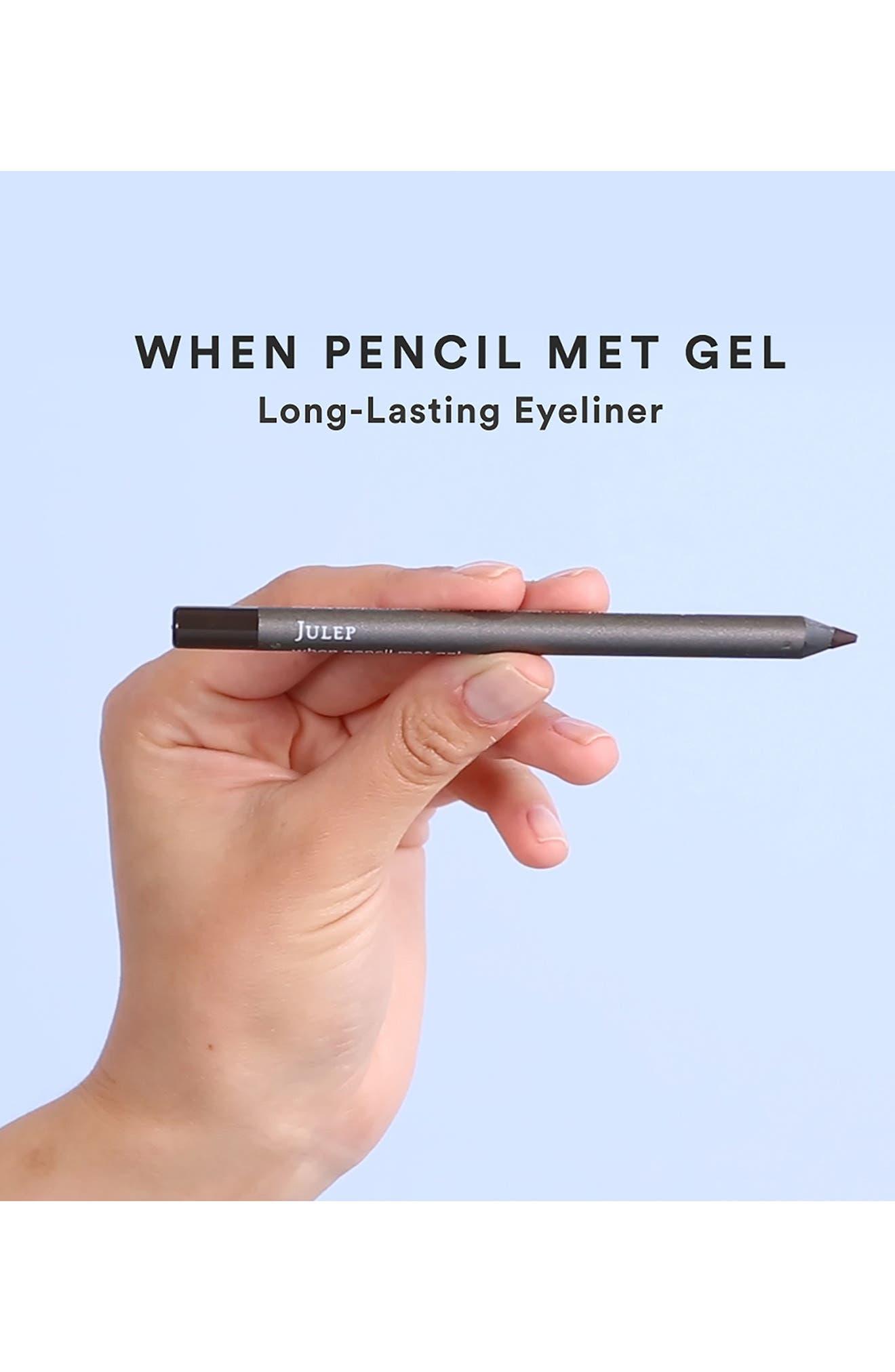 Alternate Image 6  - Julep™ When Pencil Met Gel Long-Lasting Eyeliner