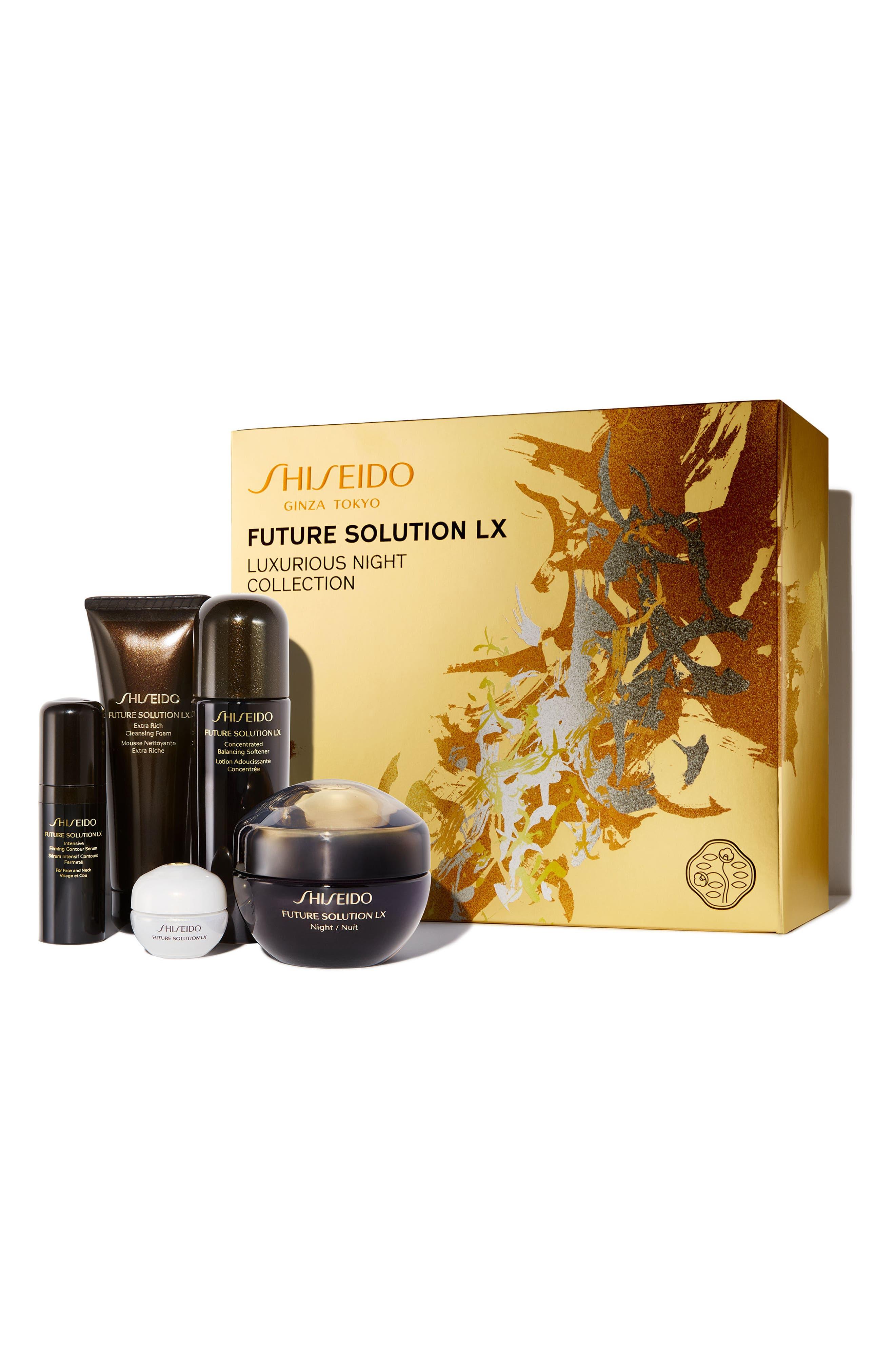 Main Image - Shiseido Luxurious Night Collection ($436 Value)