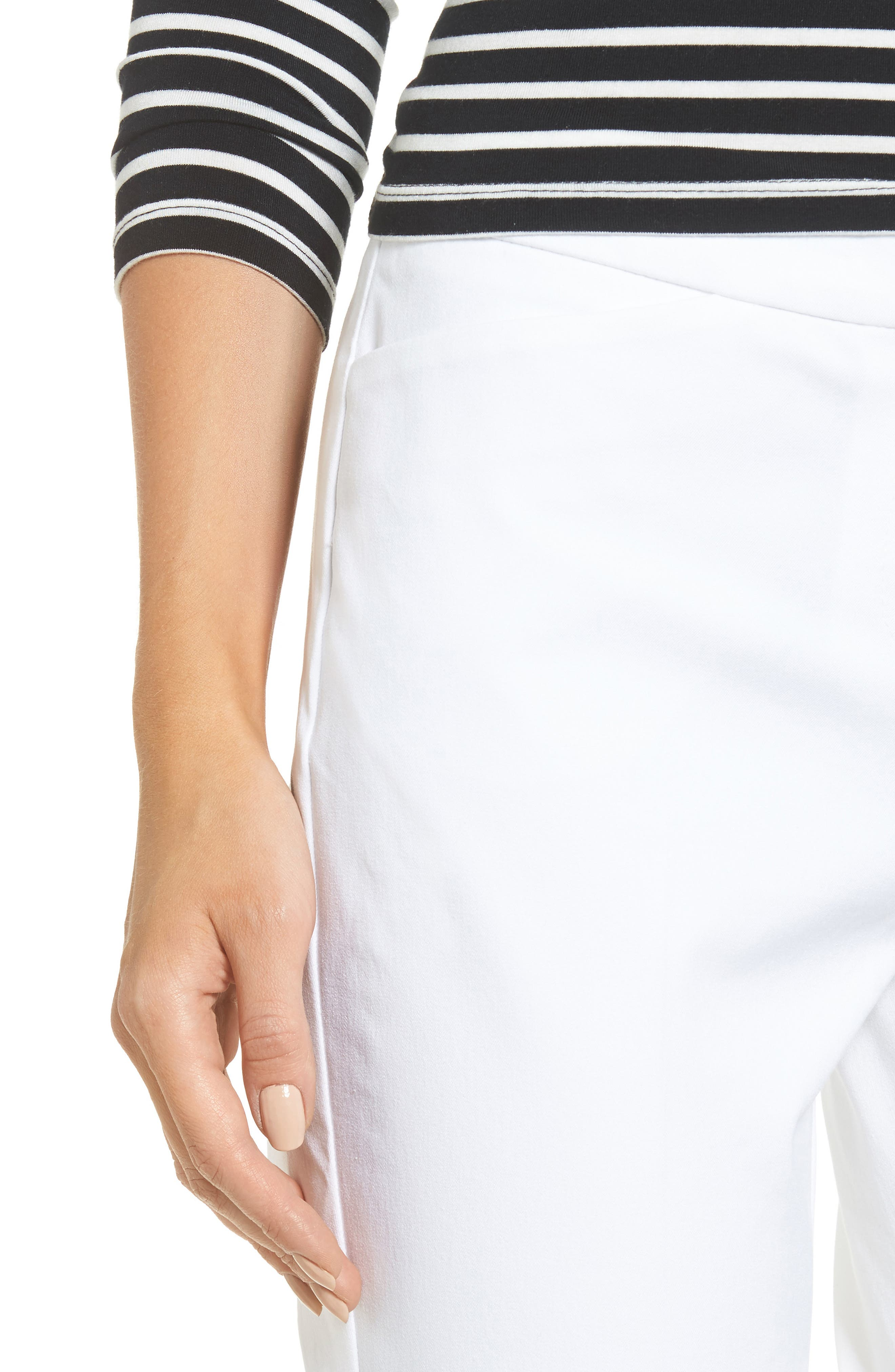 Ankle Pants,                             Alternate thumbnail 4, color,                             White