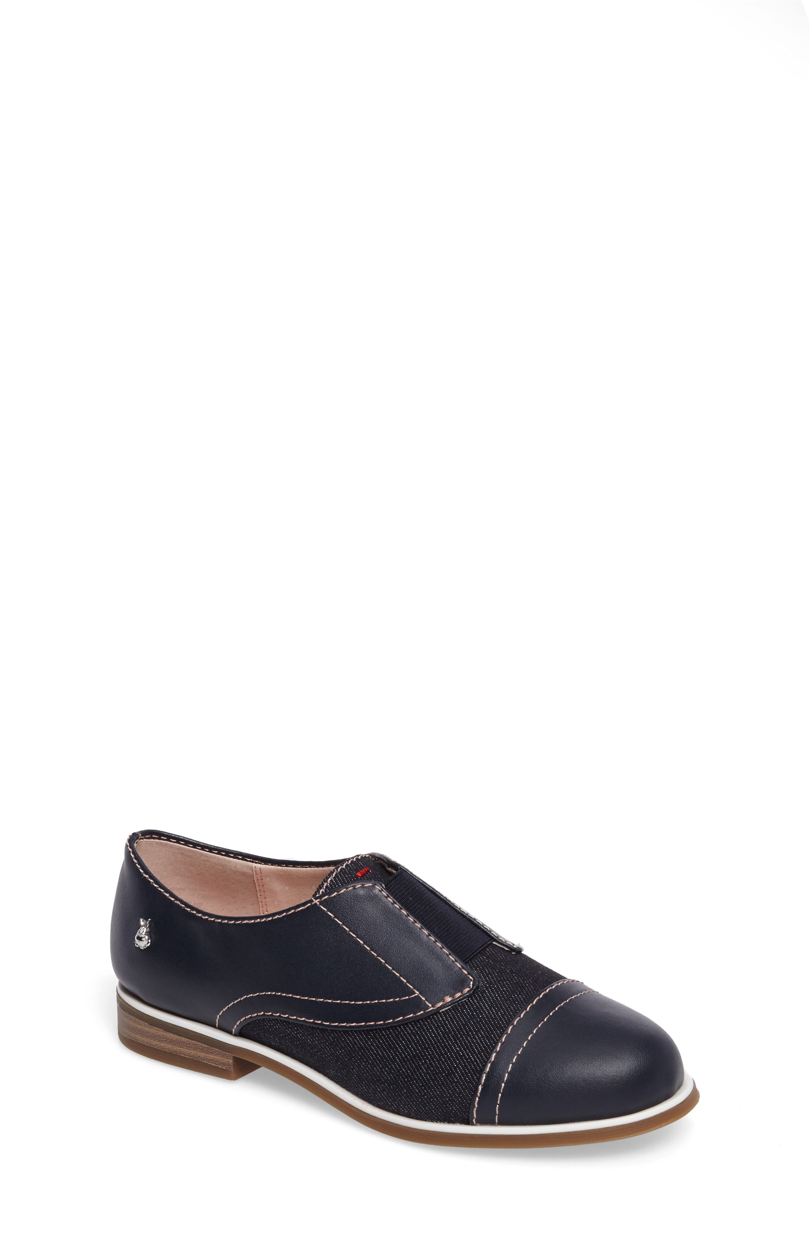 Alternate Image 1 Selected - ED Ellen Degeneres Kassie Laceless Cap Toe Oxford (Toddler, Little Kid & Big Kid)