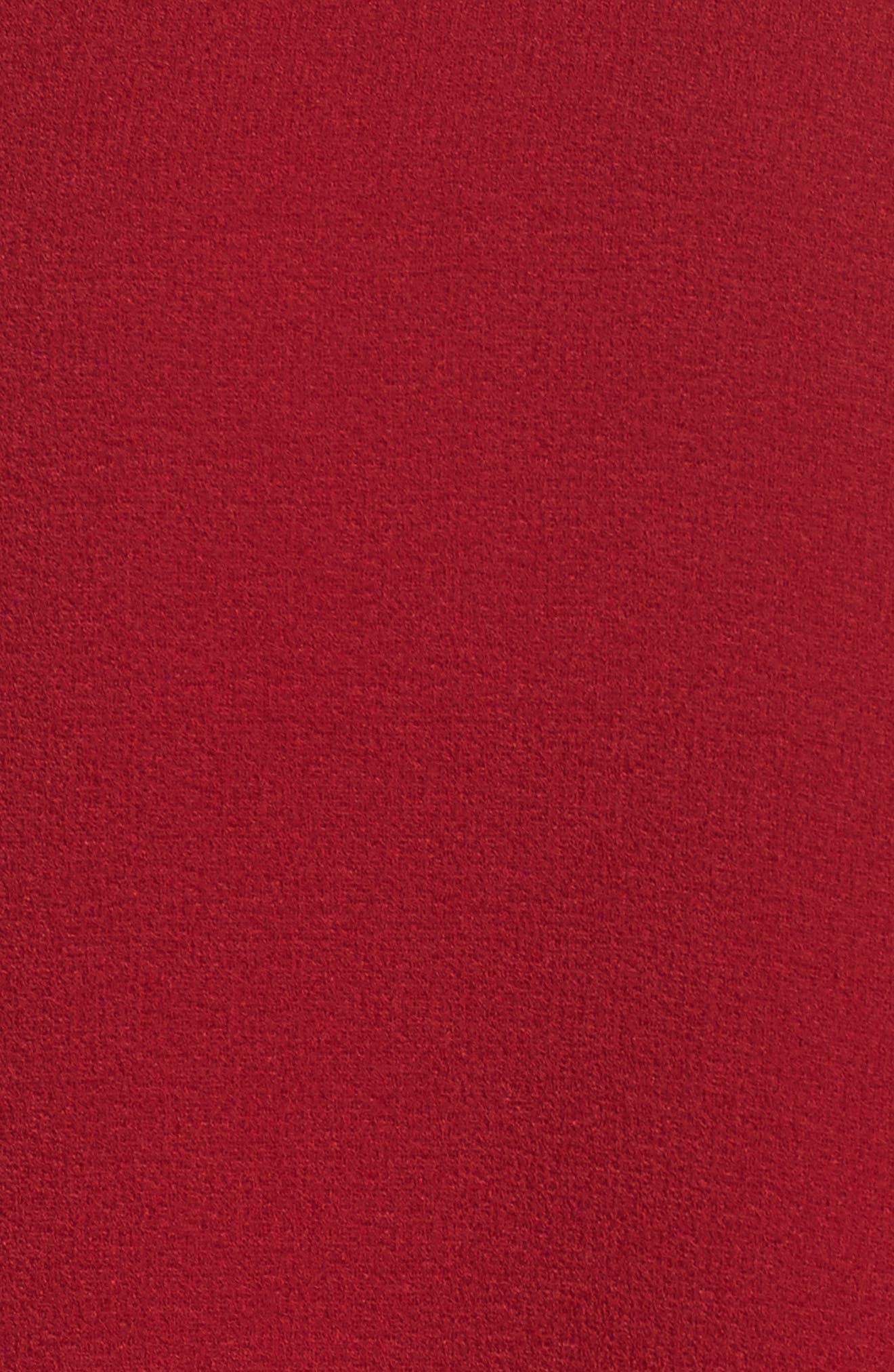 Alternate Image 5  - Charles Henry Tiered Ruffle Sleeve Dress (Regular & Petite)