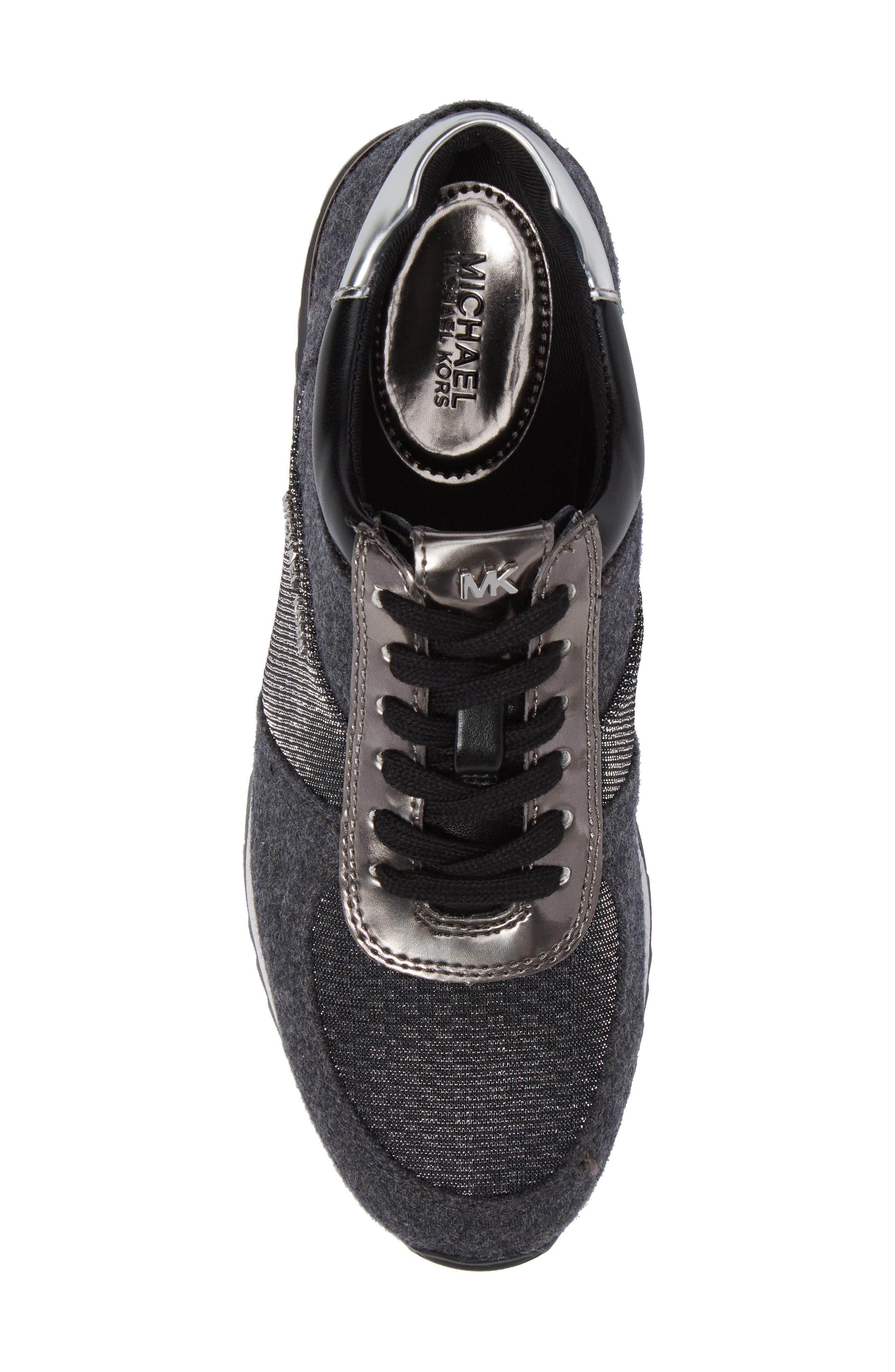 Alternate Image 5  - MICHAEL Michael Kors 'Allie' Sneaker (Women)