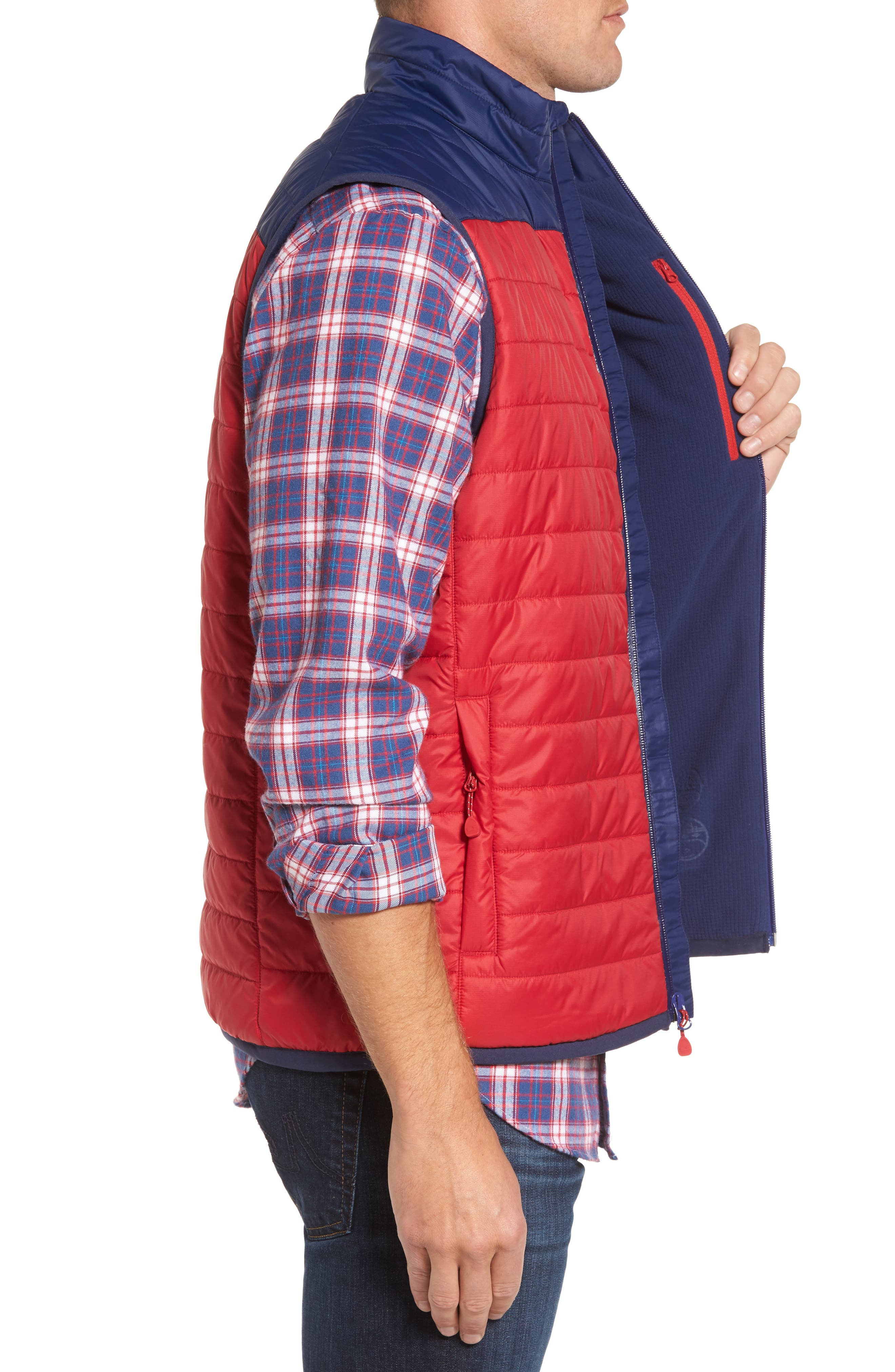 Alternate Image 3  - vineyard vines Mountain Weekend Colorblock PrimaLoft® Vest