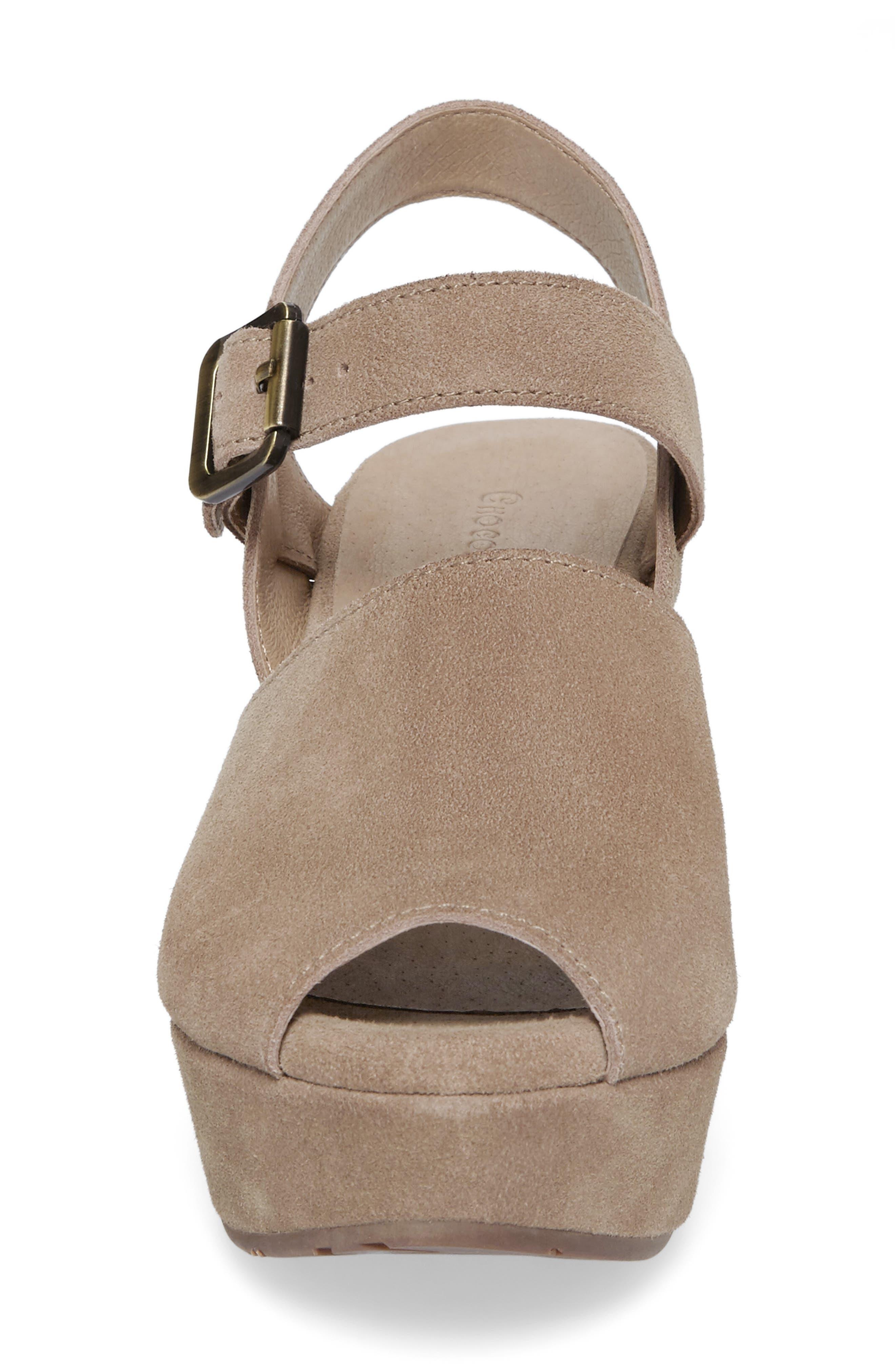 Alternate Image 4  - Chocolat Blu Wagga Platform Wedge Sandal (Women)