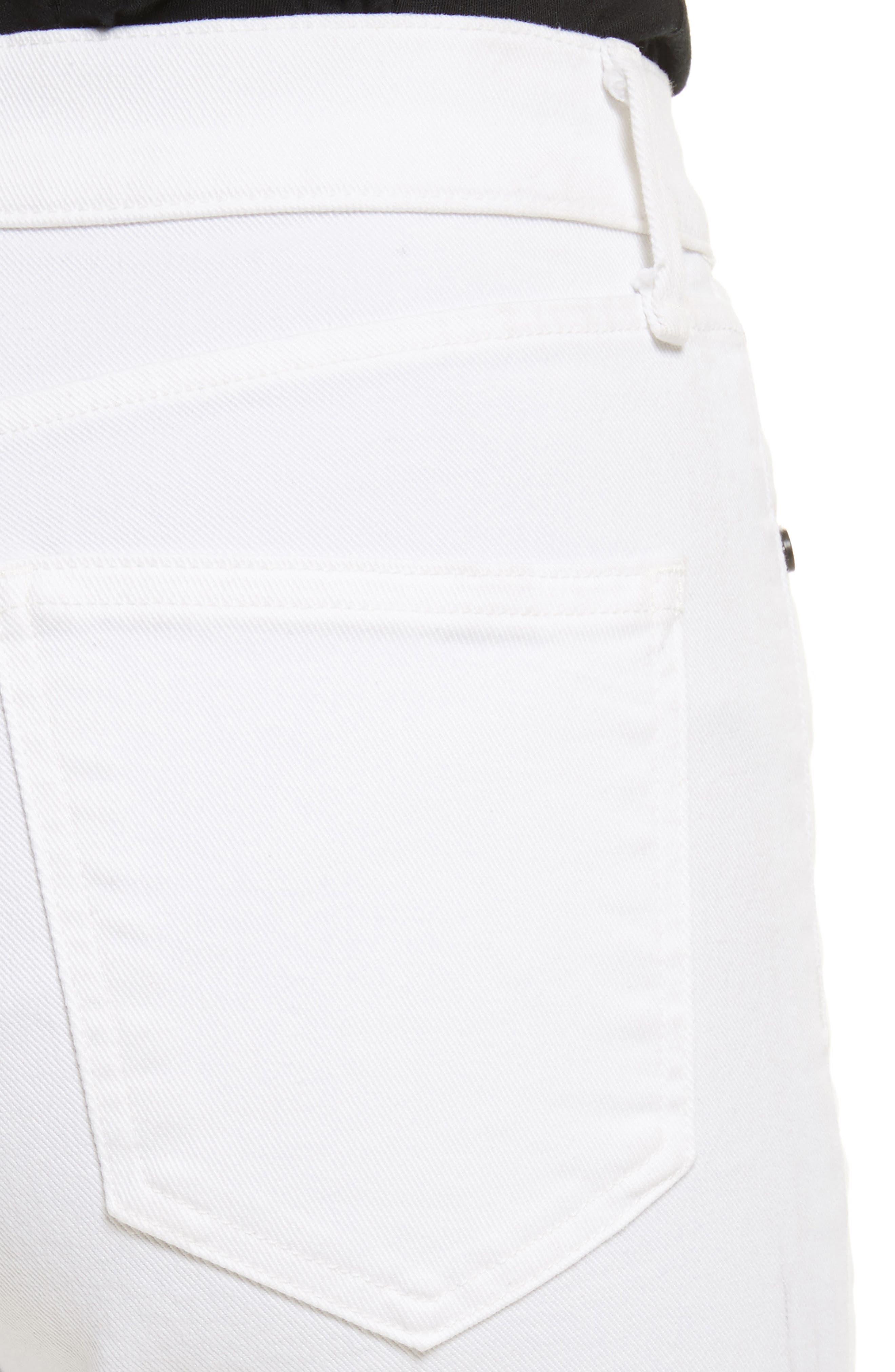 Alternate Image 4  - rag & bone/JEAN High Waist Ankle Skinny Jeans