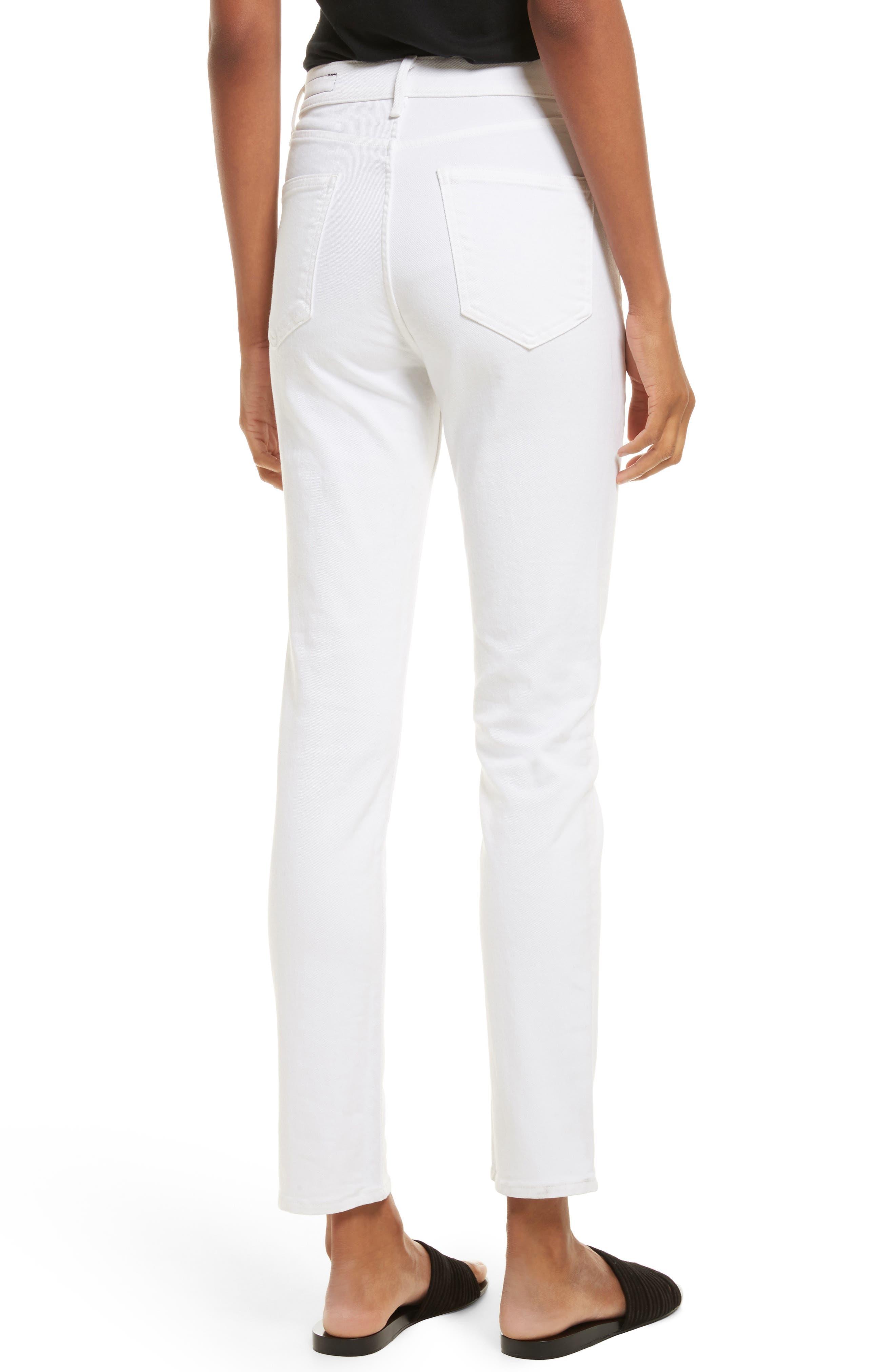 Alternate Image 2  - rag & bone/JEAN High Waist Ankle Skinny Jeans