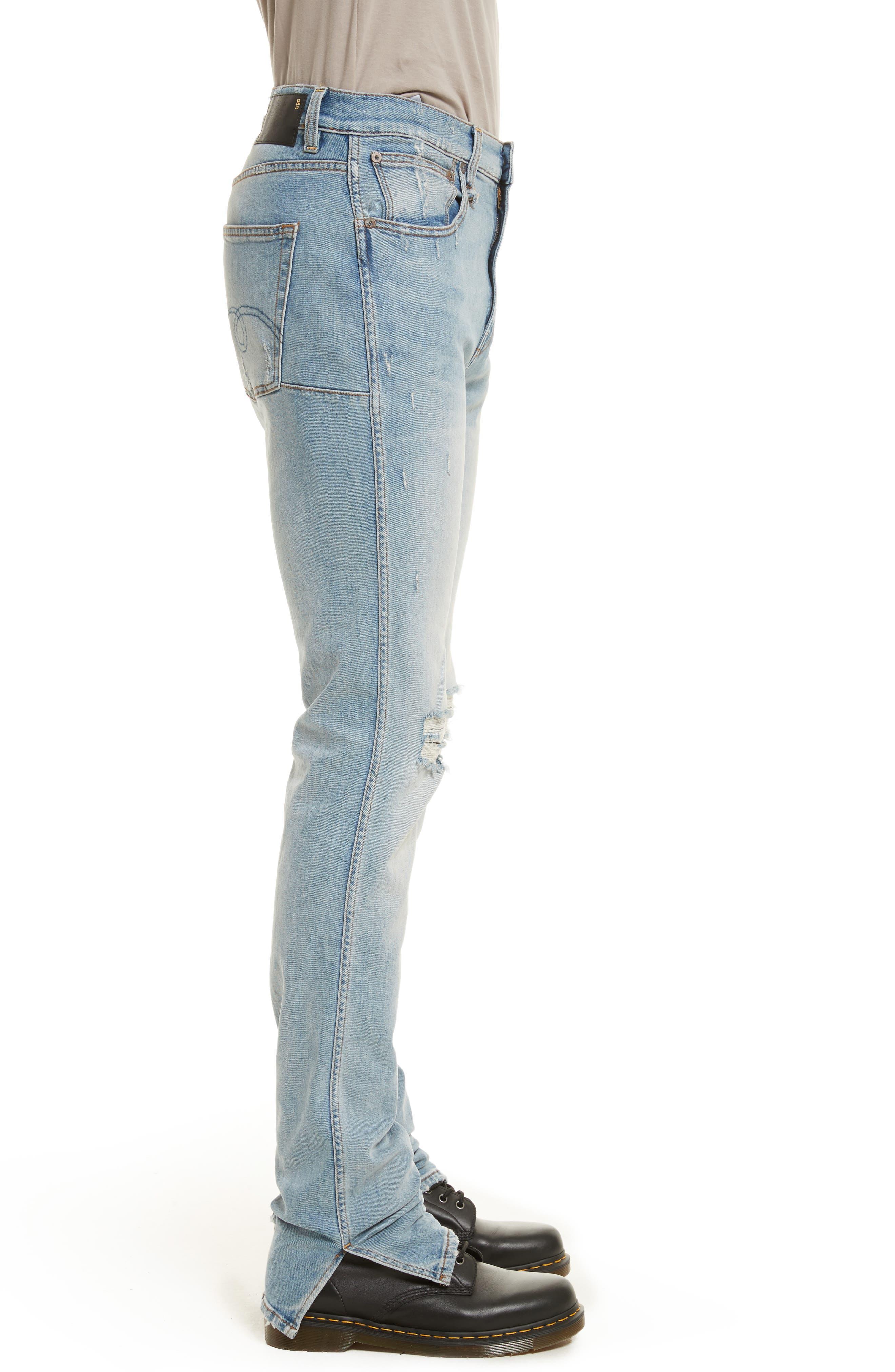 Alternate Image 3  - R13 Deacon Skate Skinny Fit Jeans