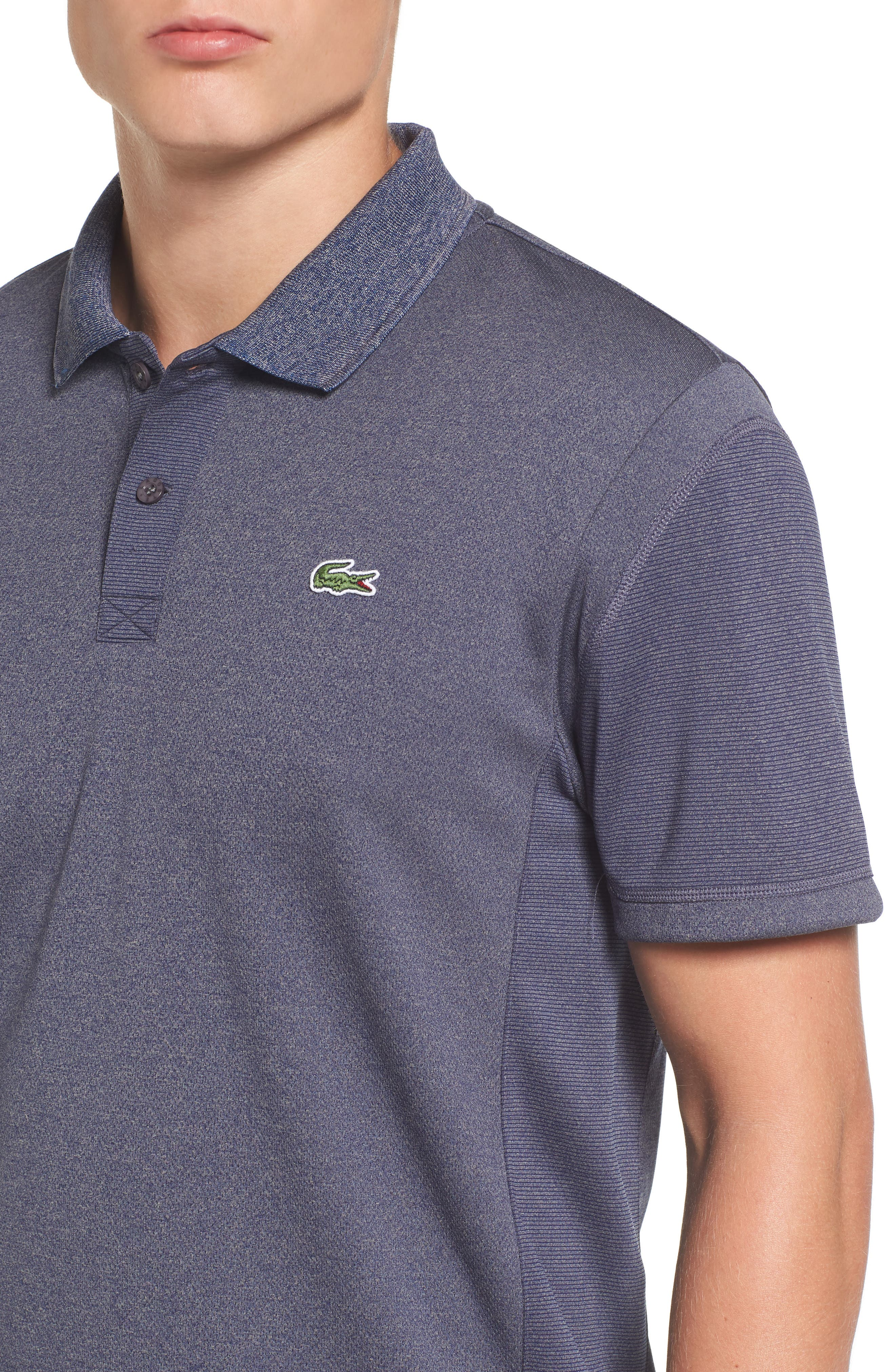 Alternate Image 4  - Lacoste Two-Tone Polo