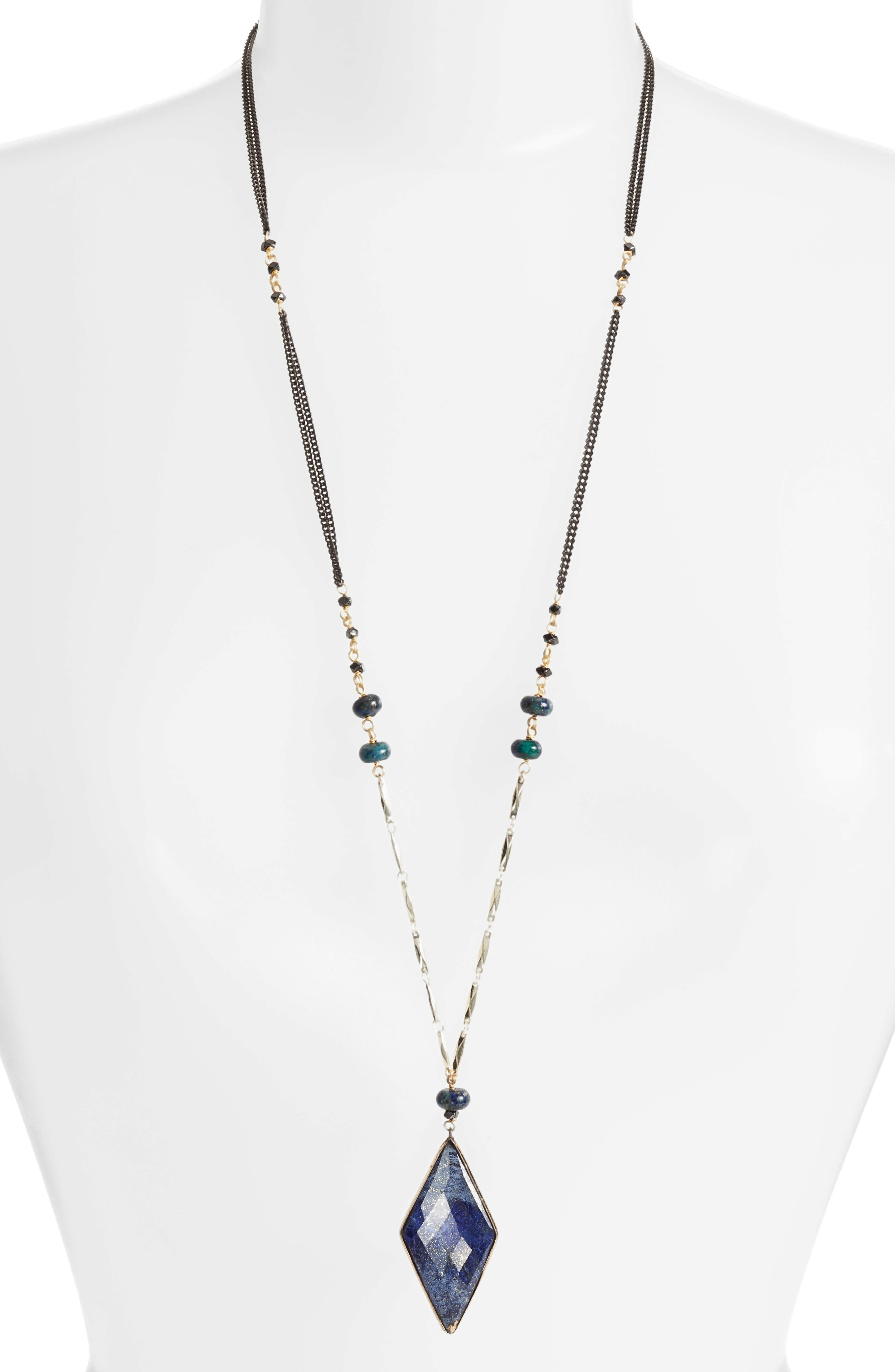 Nakamol Design Chiara Semiprecious Pendant Necklace