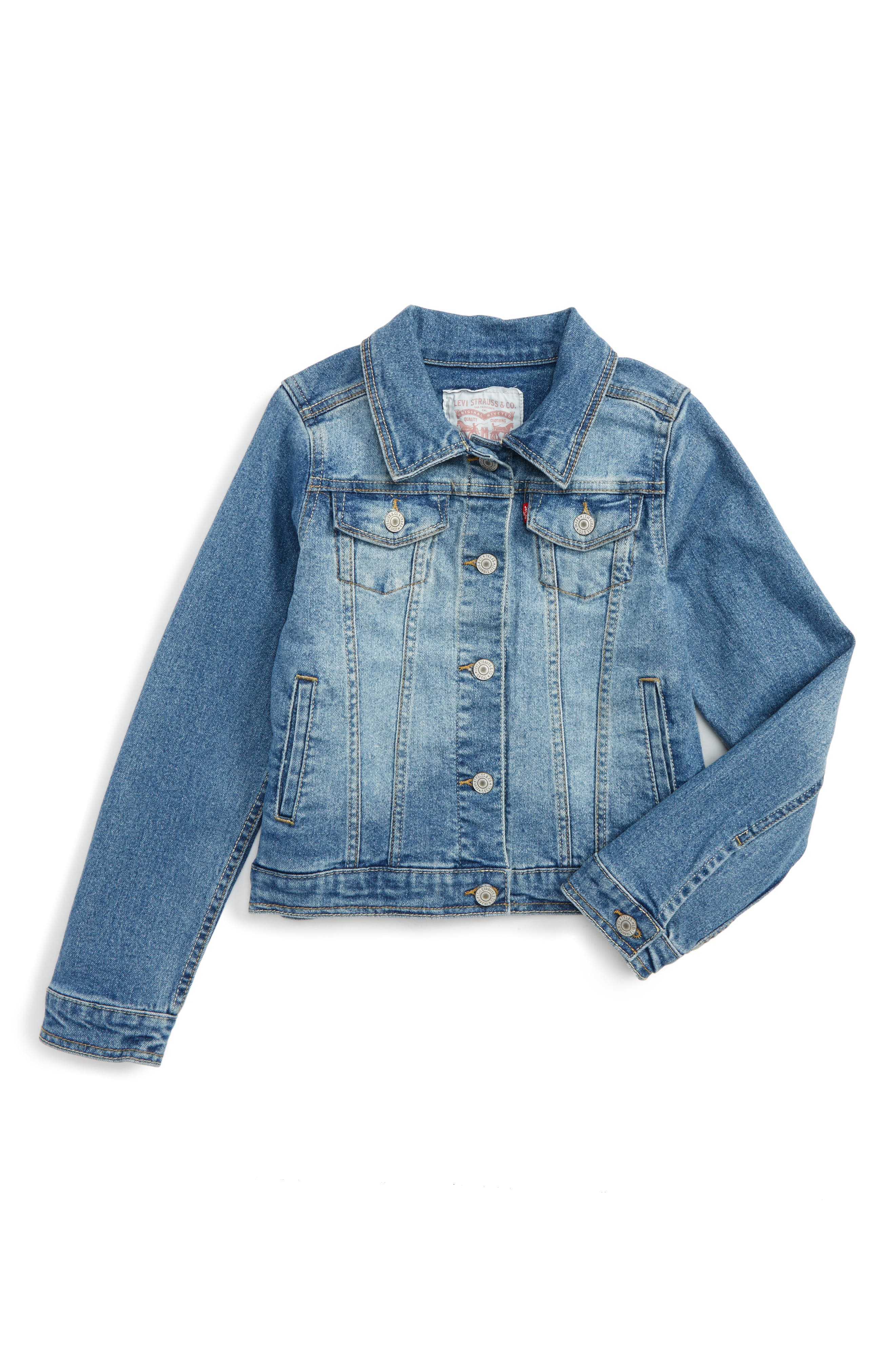 Levi's Denim Trucker Jacket (Big Girls)