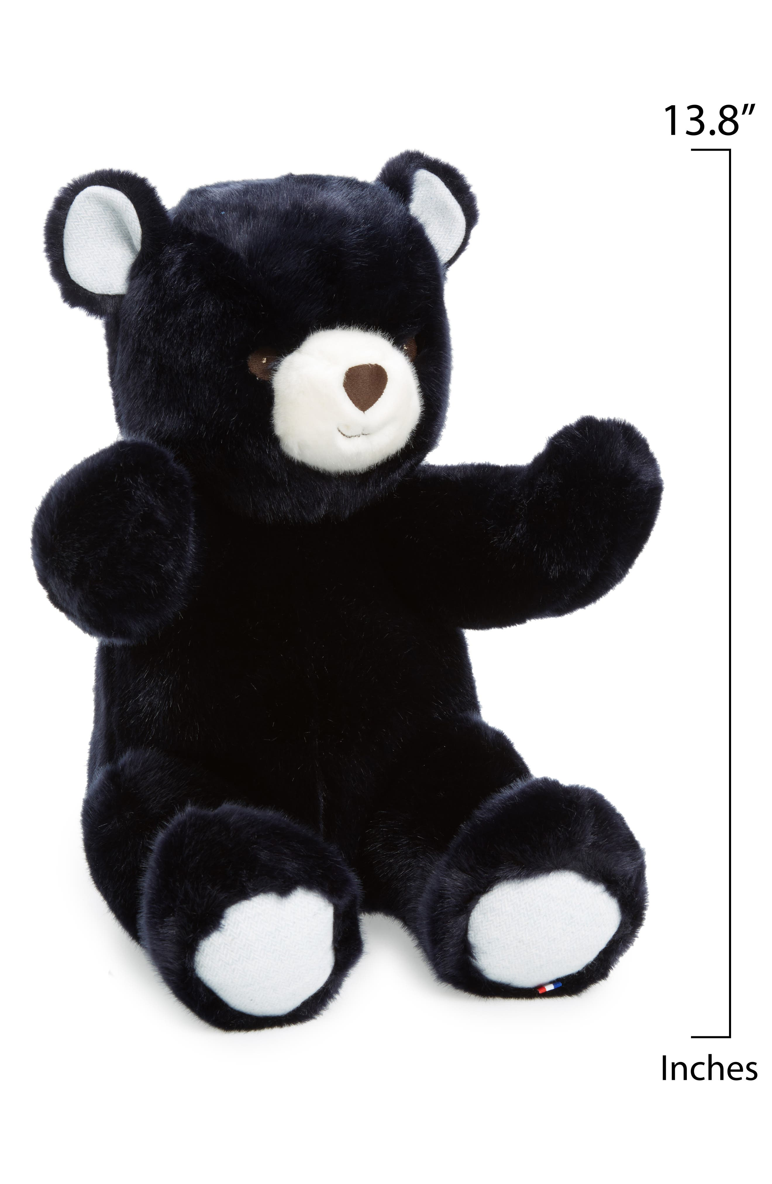 Robert the Bear Stuffed Animal,                             Alternate thumbnail 2, color,                             Navy