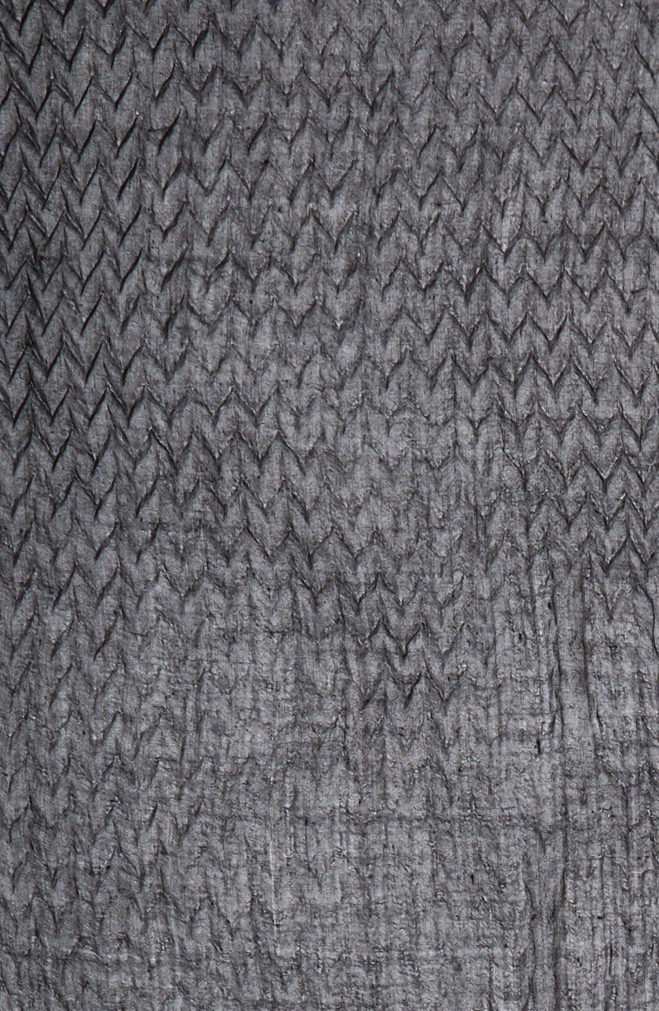 Silk & Wool Wrap,                             Alternate thumbnail 4, color,                             Black