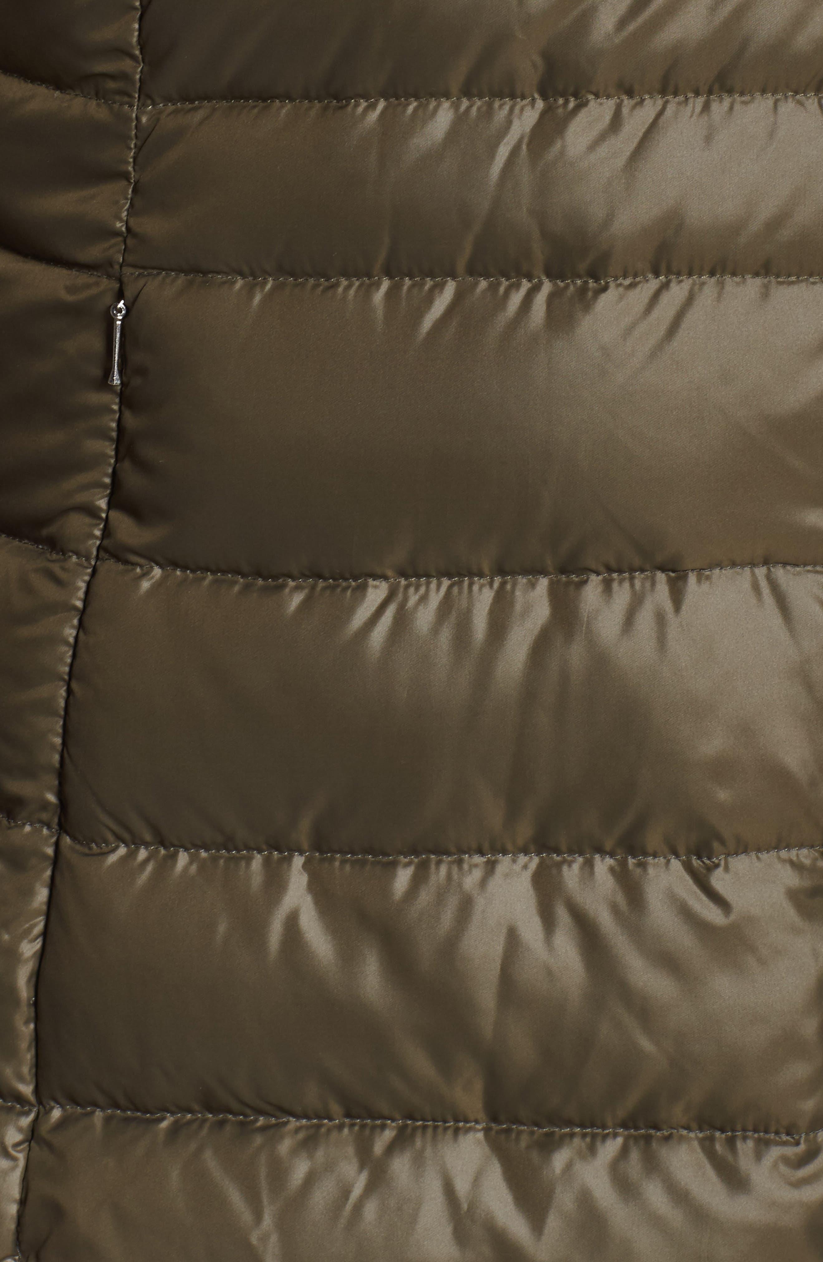 Alternate Image 5  - Andrew Marc Erin Hooded Down Coat (Plus Size)