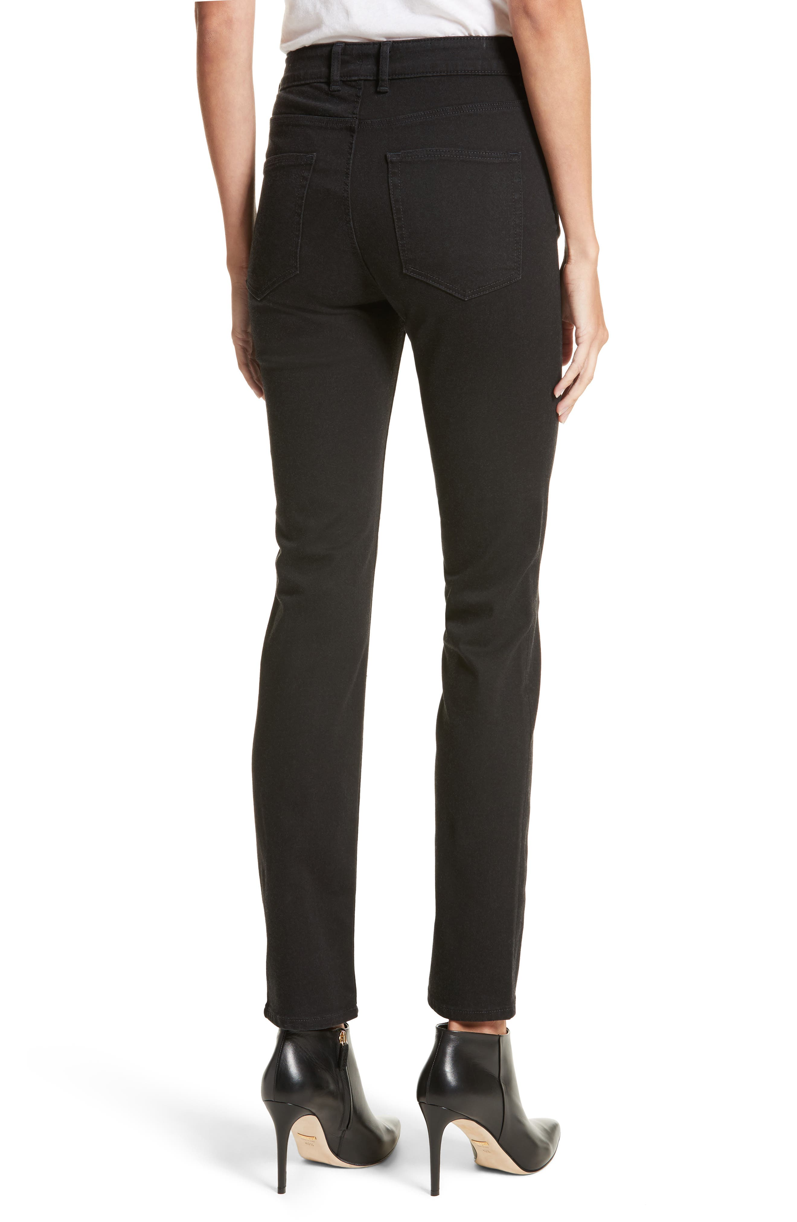 Clemence Skinny Pants,                             Alternate thumbnail 2, color,                             Coal Wash