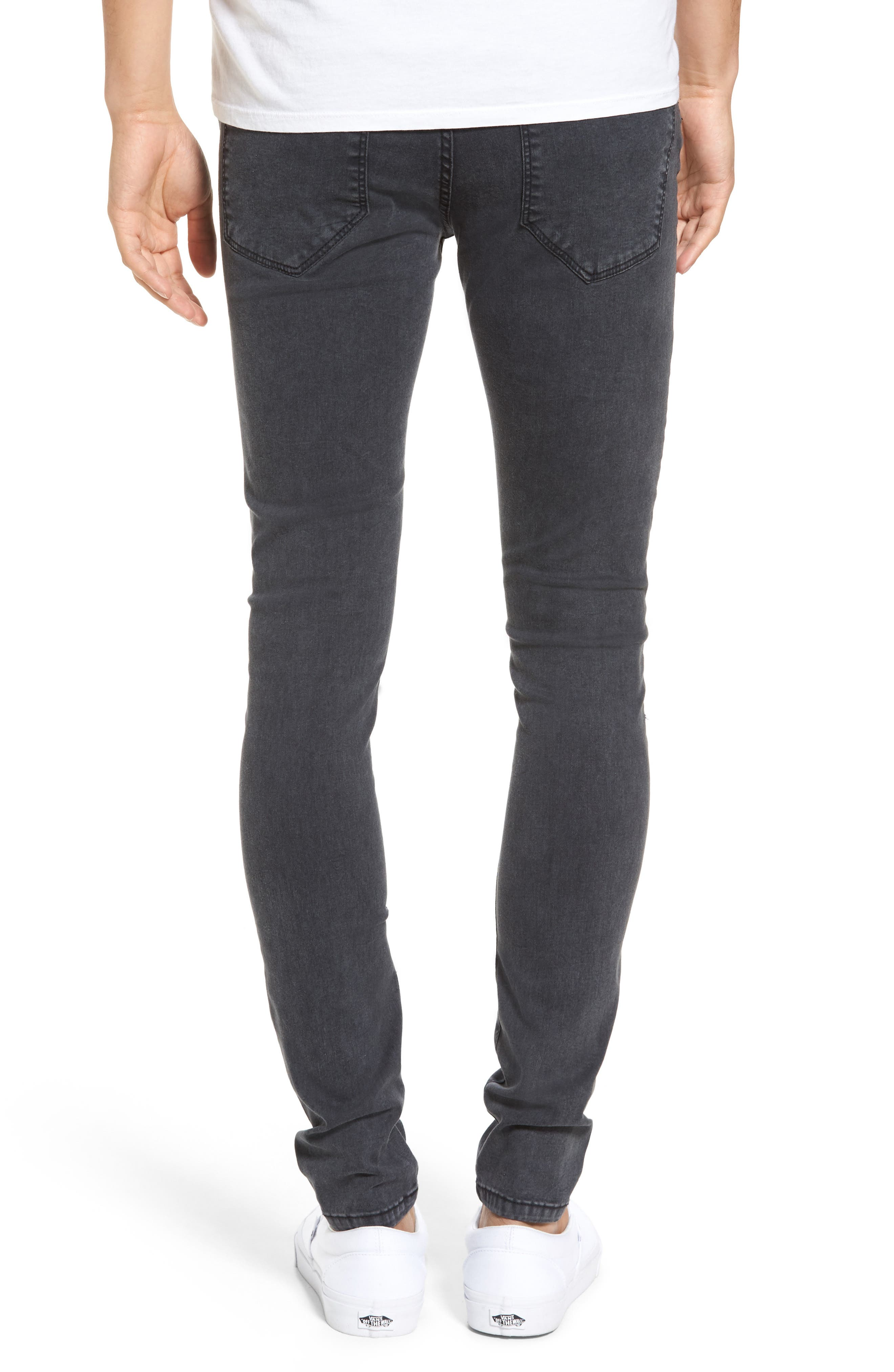 Leroy Slim Fit Jeans,                             Alternate thumbnail 2, color,                             Grey Lush