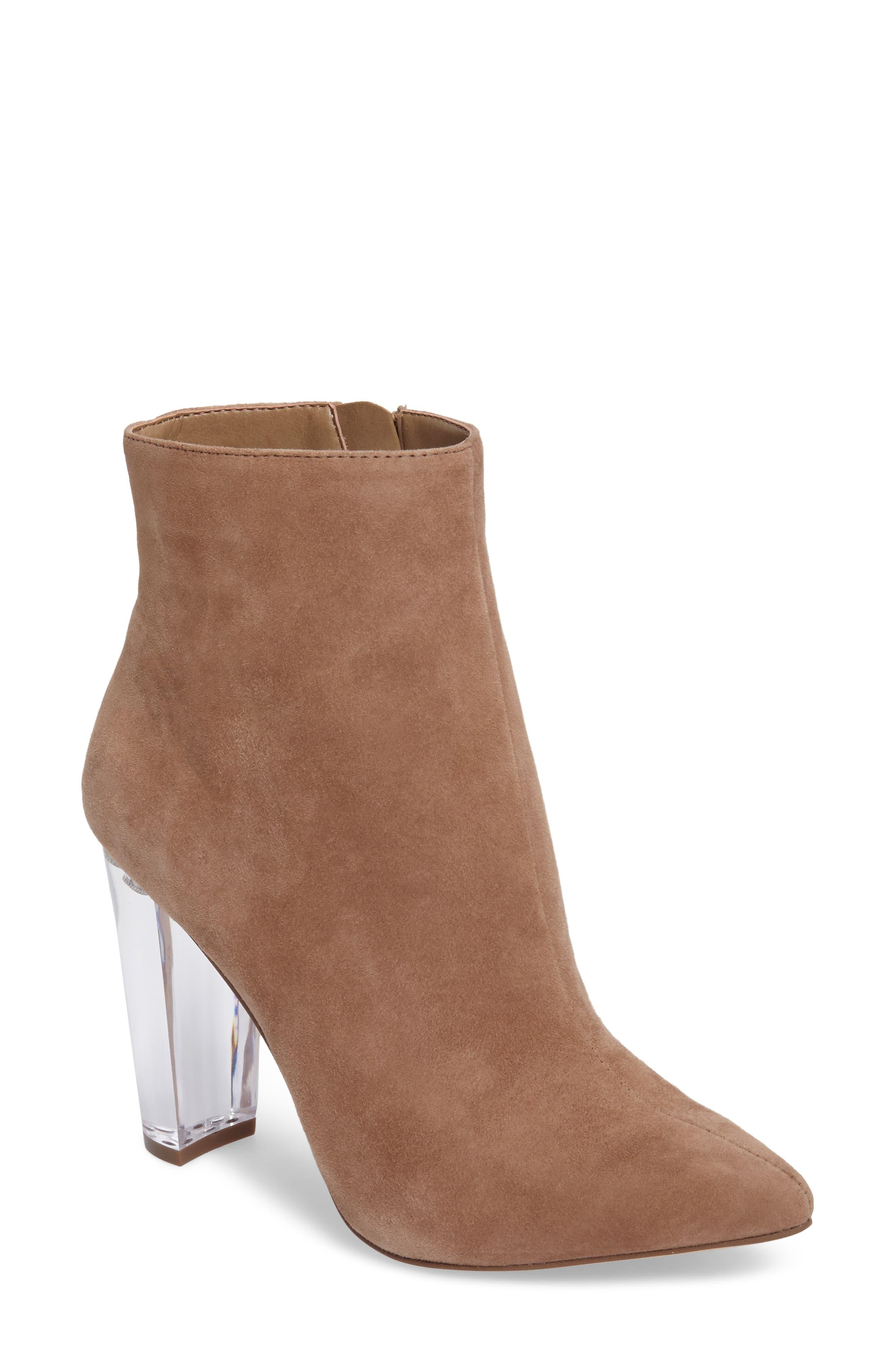 Main Image - Jessica Simpson Teddi Crescent-Heel Bootie (Women)