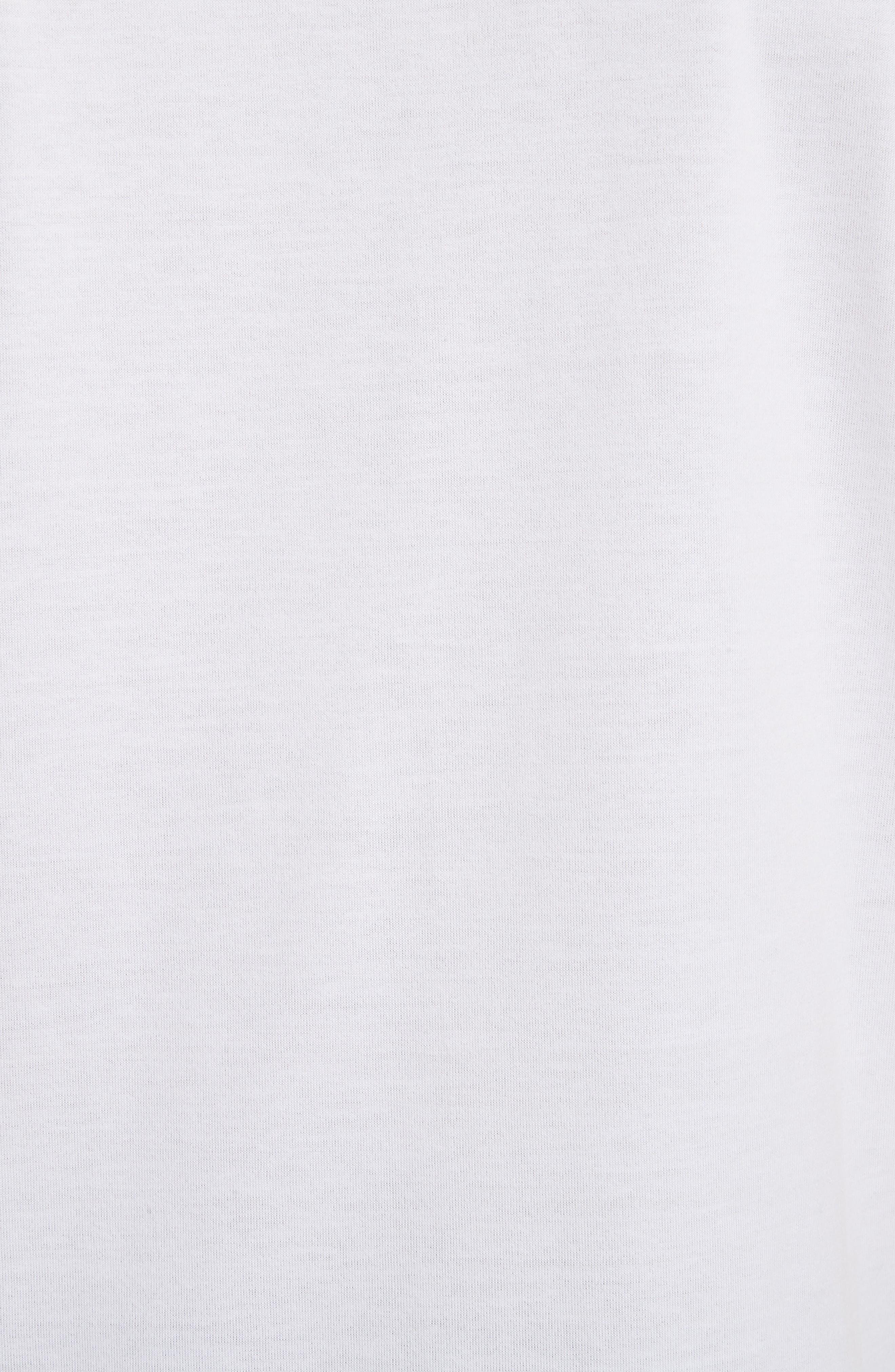 Logo Patch Jersey Polo,                             Alternate thumbnail 5, color,                             White