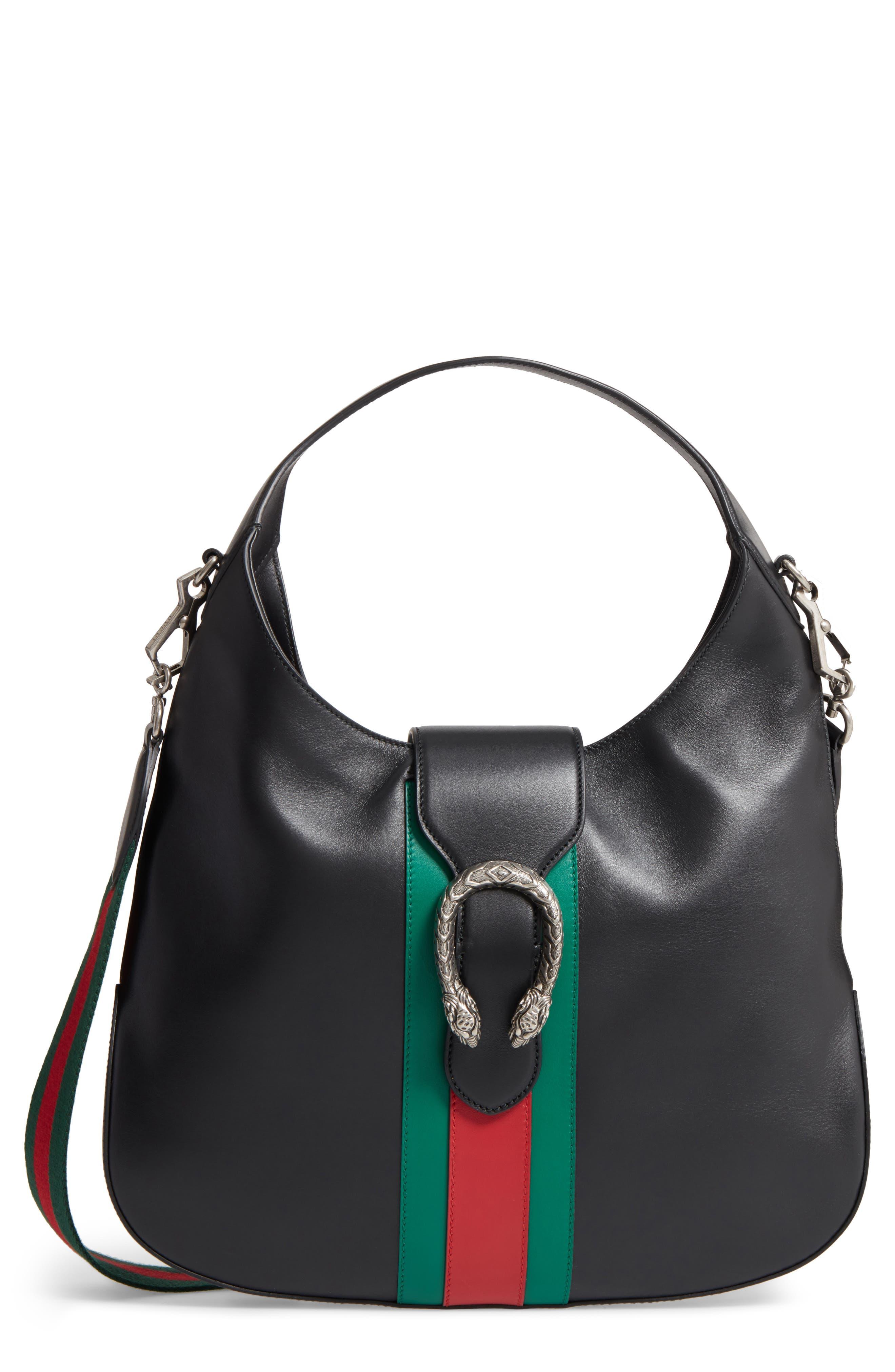 Gucci Dionysus Medium Leather Hobo Bag