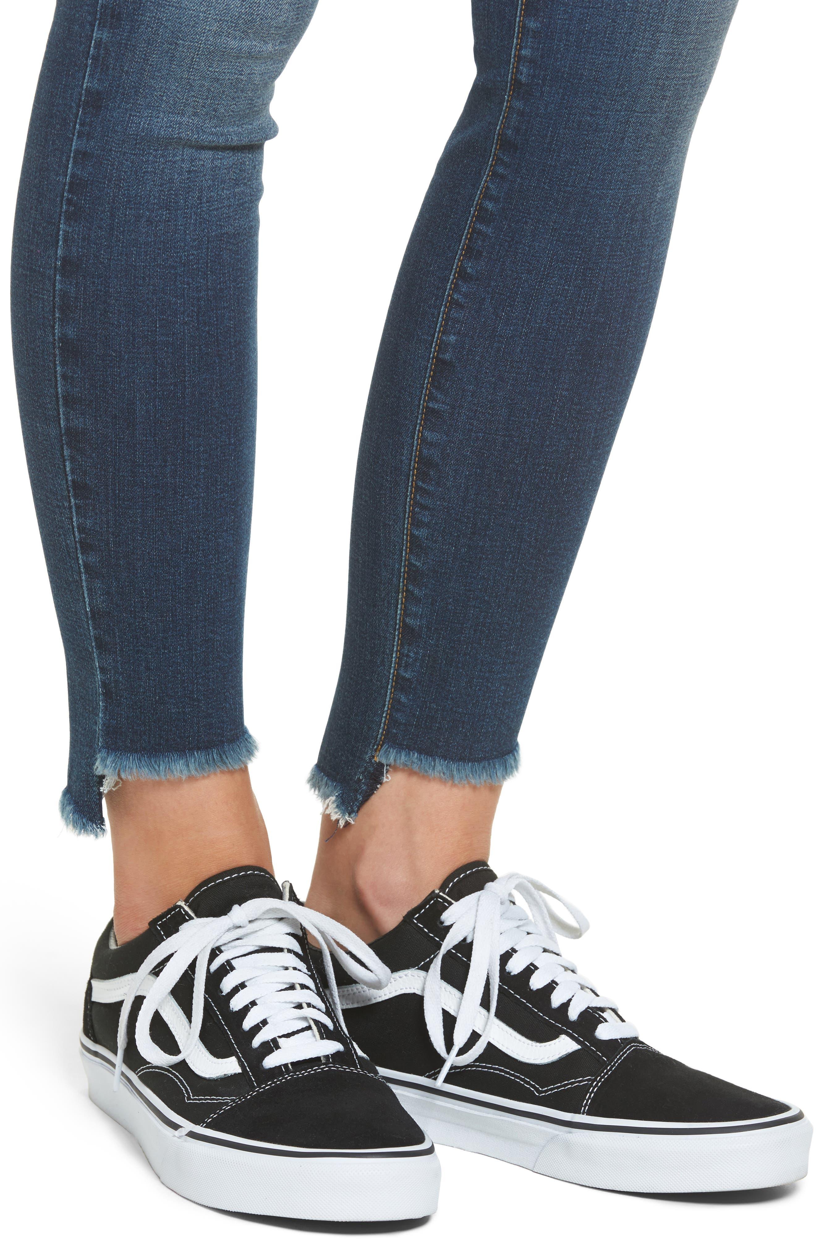 Alternate Image 4  - STS Blue Ellie Step Hem Skinny Jeans (Robertson)