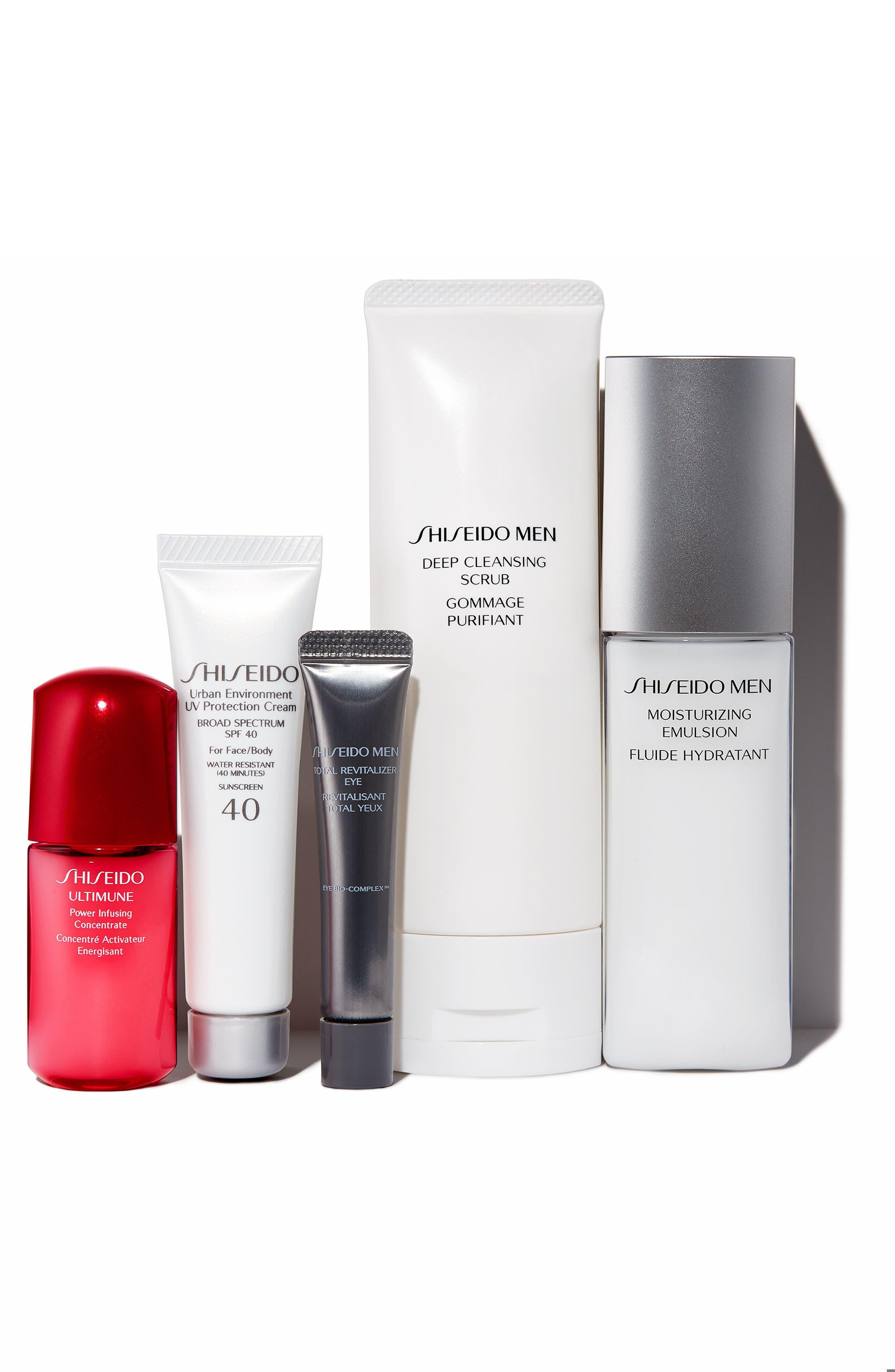 Alternate Image 2  - Shiseido Men's Essentials Collection ($108 Value)