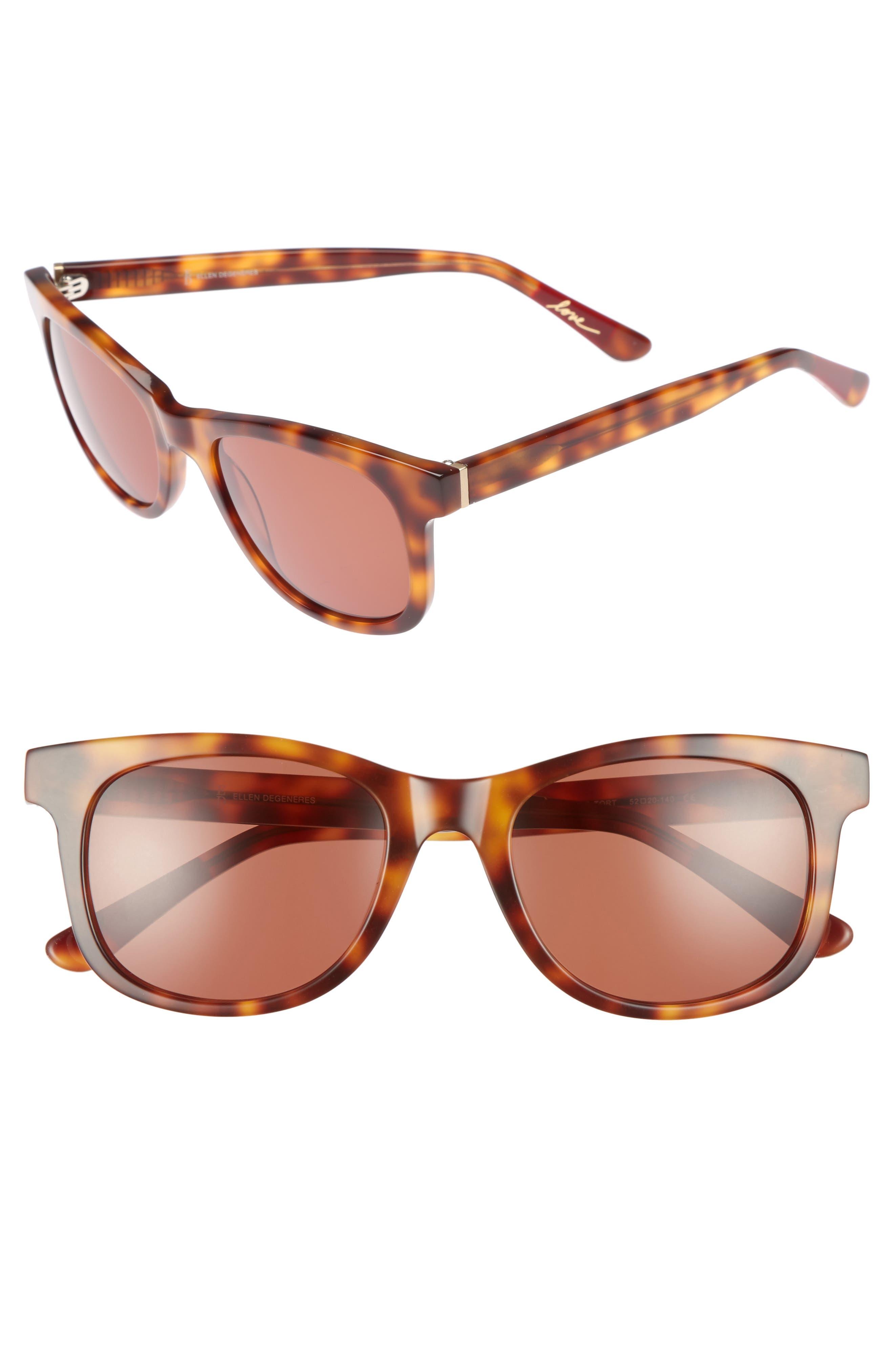 ED Ellen DeGeneres 52mm Gradient Sunglasses