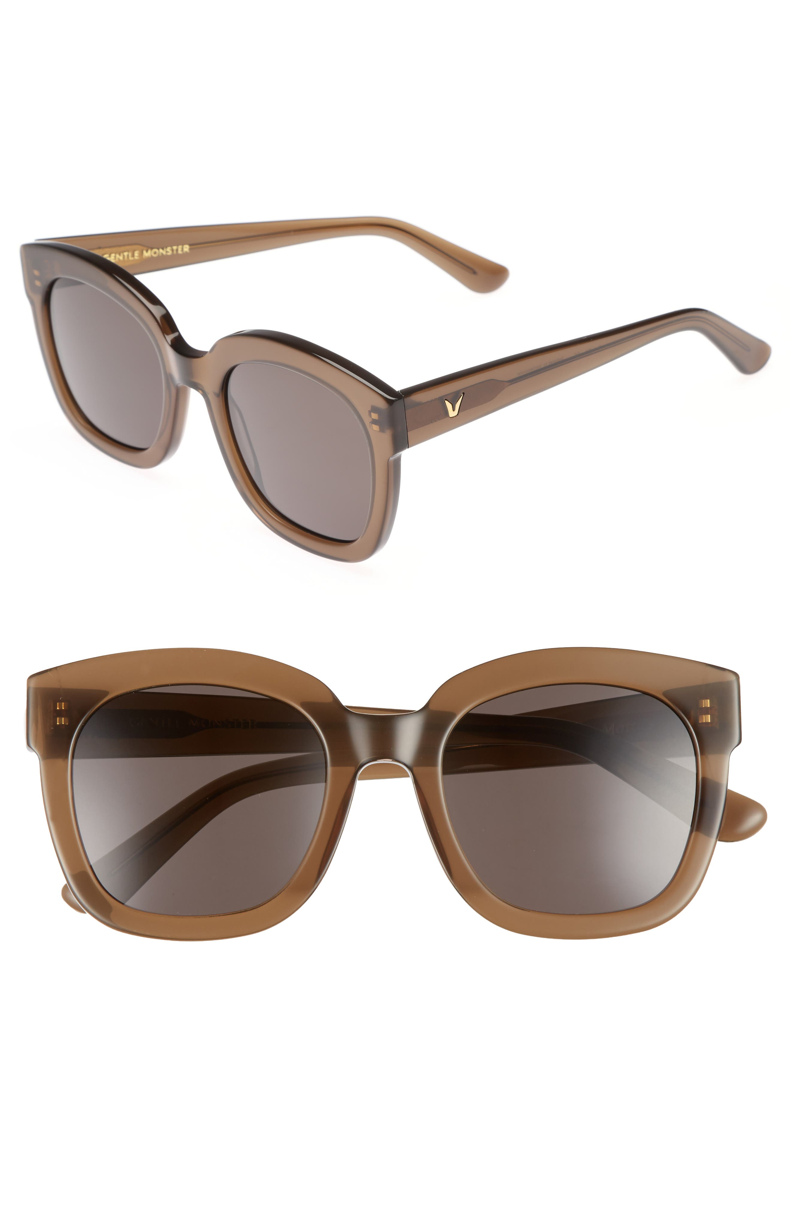 GENTLE MONSTER Matti 51mm Rounded Sunglasses