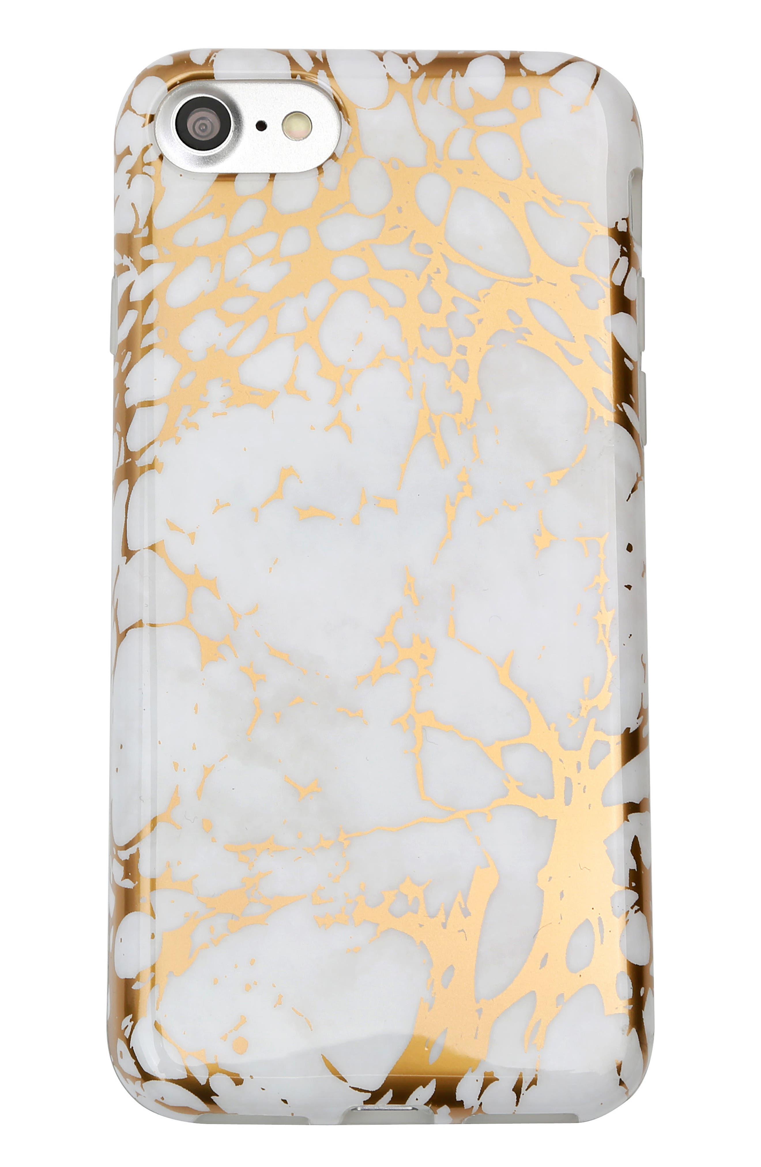 Velvet Caviar White Marble iPhone 7 Case