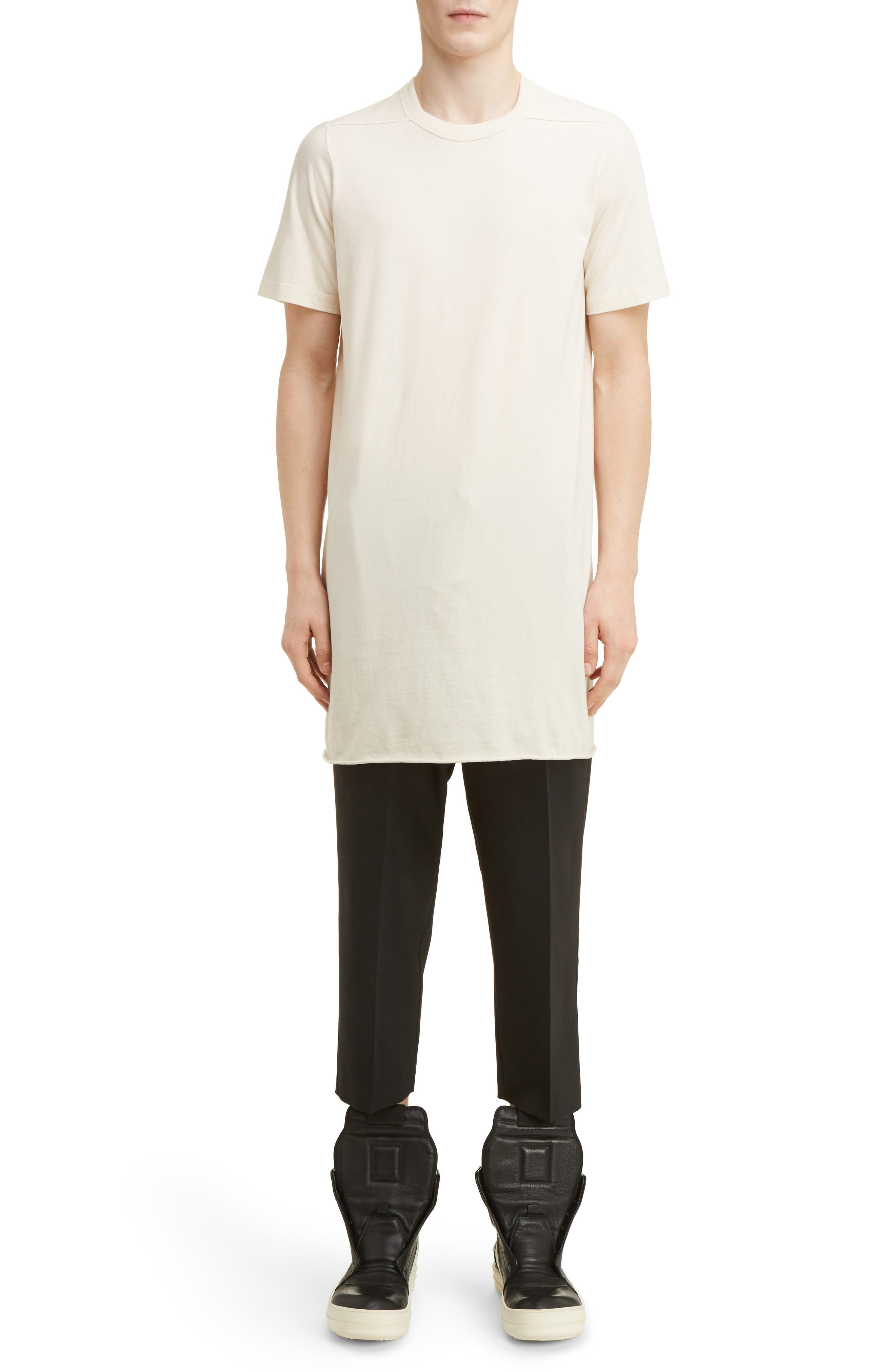 Alternate Image 10  - Rick Owens Cropped Wool Blend Pants