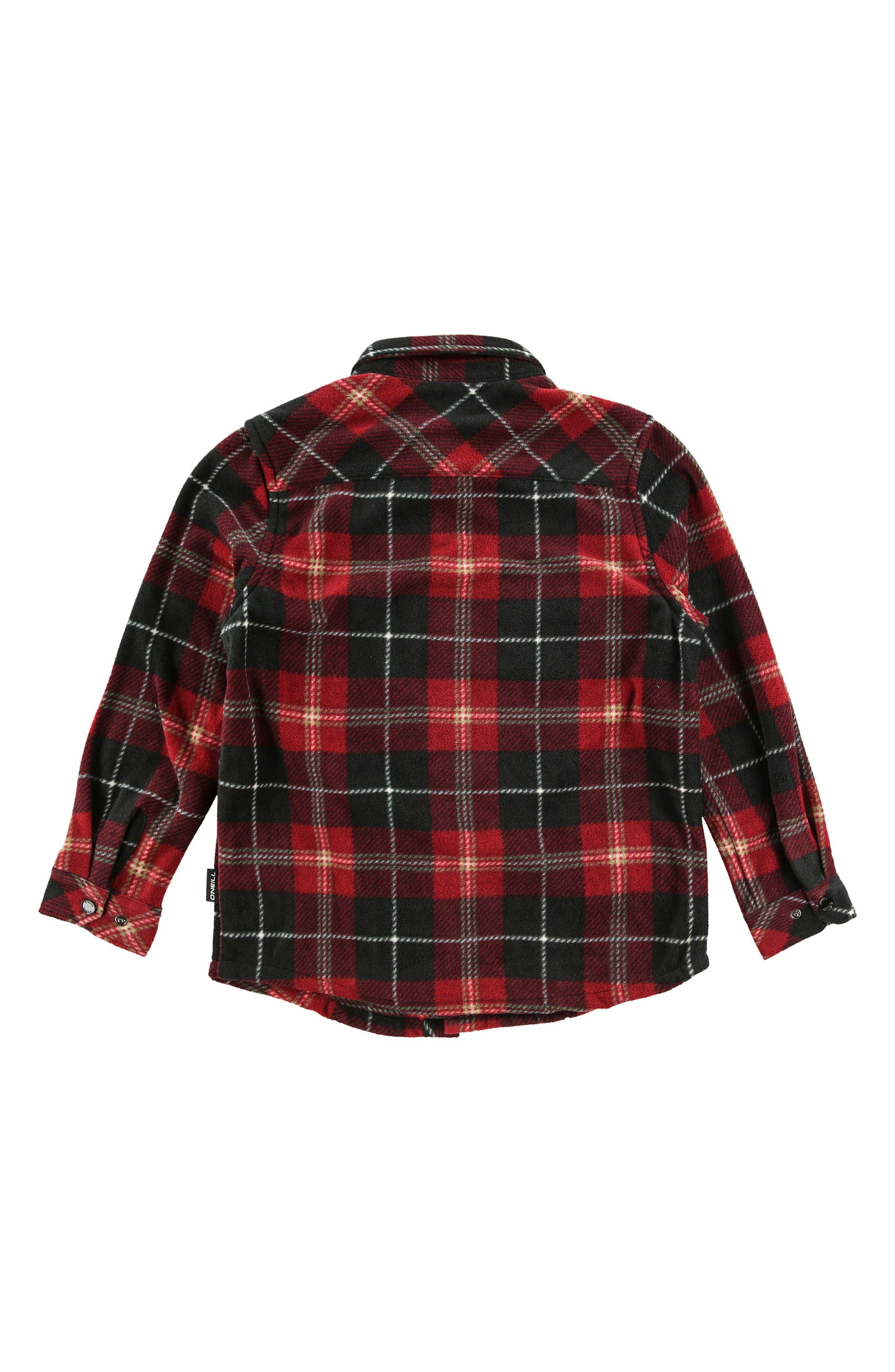 Alternate Image 2  - O'Neill Glacier Plaid Shirt (Toddler Boys)