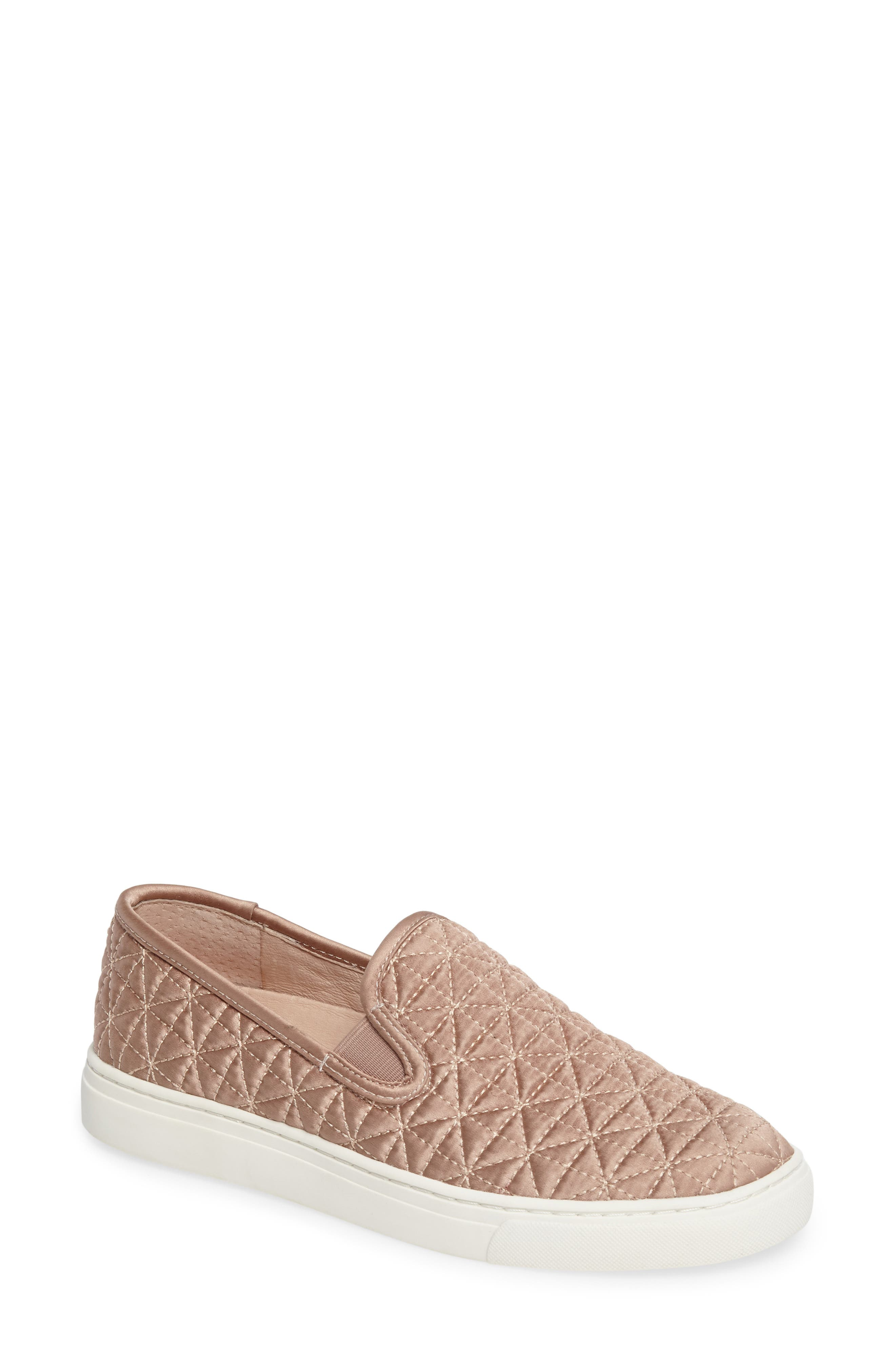 Alternate Image 1 Selected - Vince Camuto Billena Quilted Slip-On Sneaker (Women)