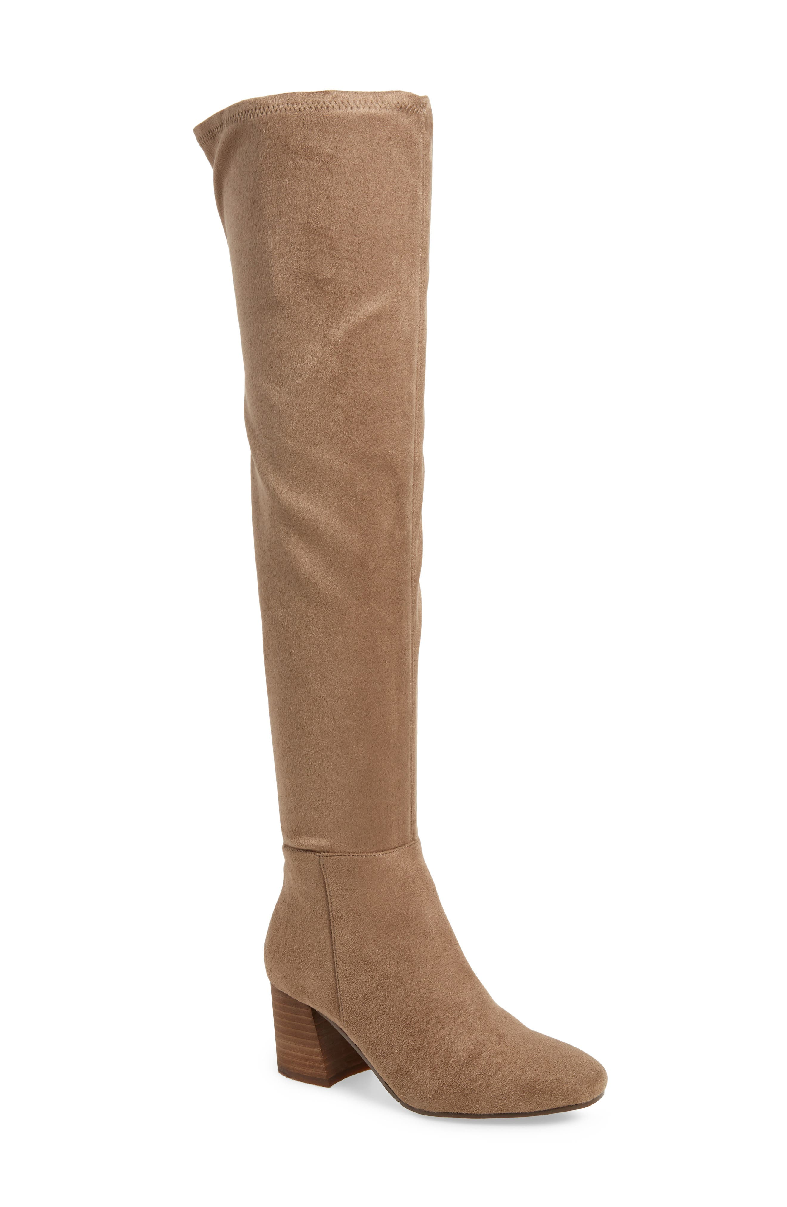Kantha Over the Knee Boot,                         Main,                         color, Foxy