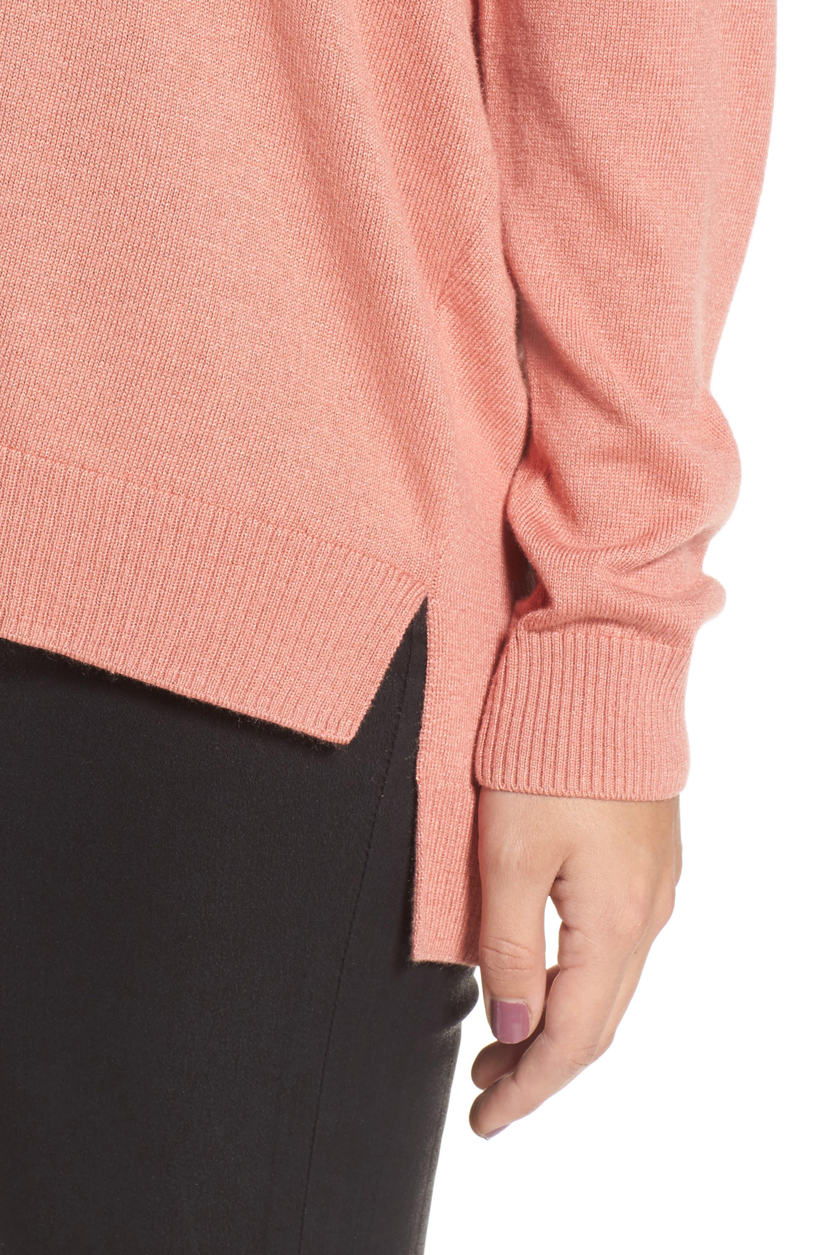 Alternate Image 4  - Leith V-Neck Sweater