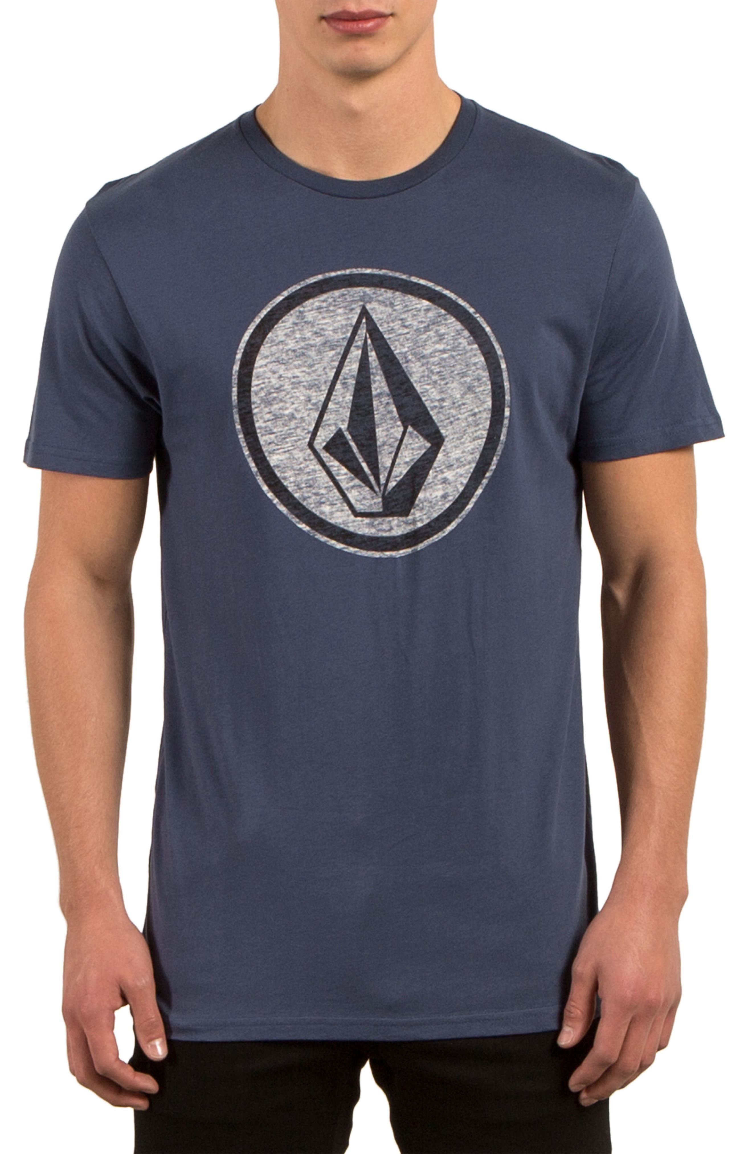 Classic Stone Graphic T-Shirt,                         Main,                         color, Blue