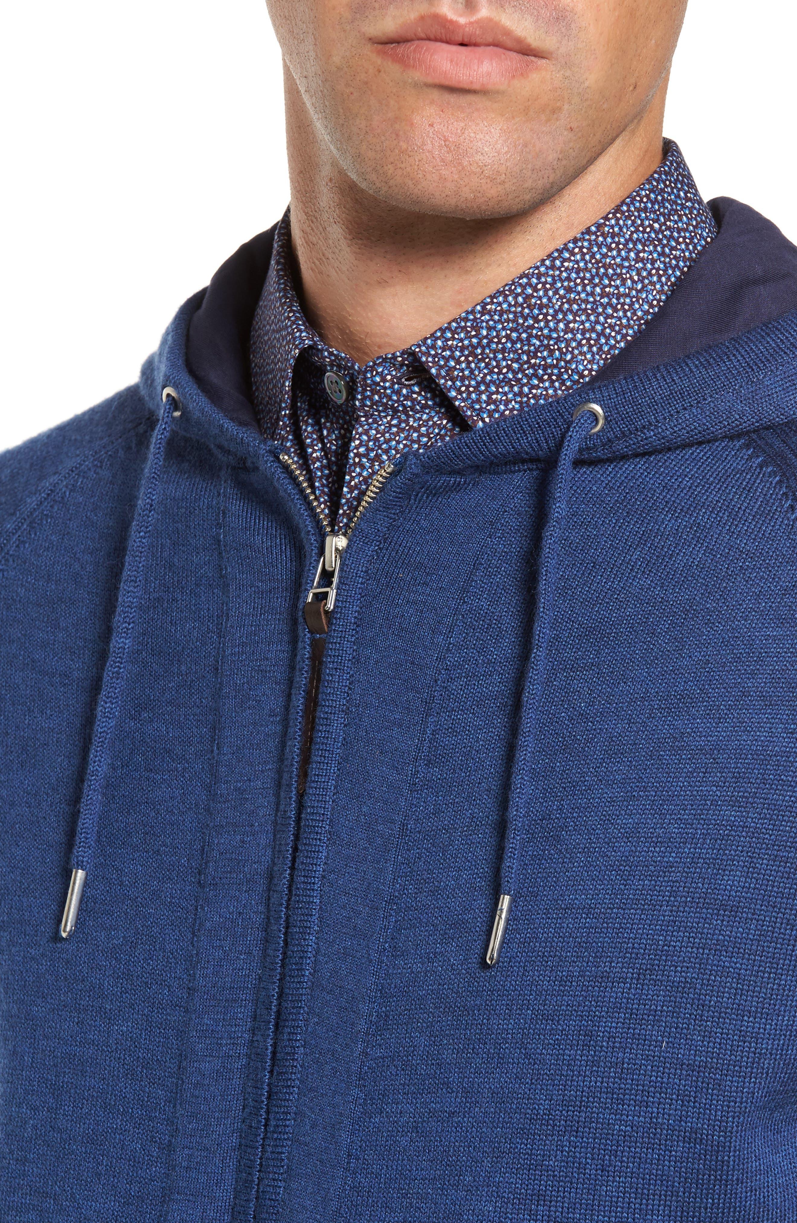 Alternate Image 4  - Rodd & Gunn Grand Vue Hooded Zip Front Knit Sweater