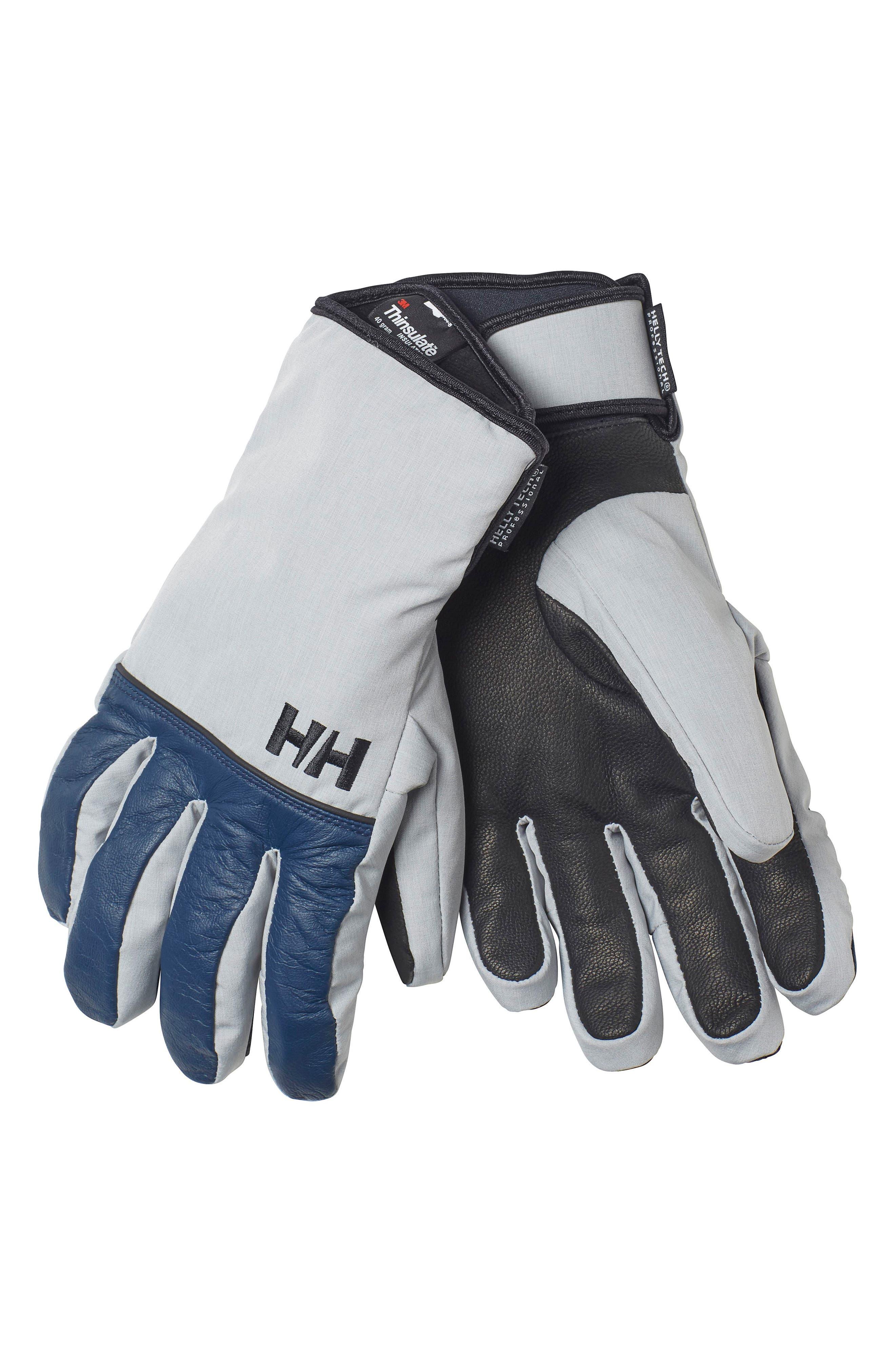 Rogue HT Gloves,                         Main,                         color, Evening Blue / Light Grey
