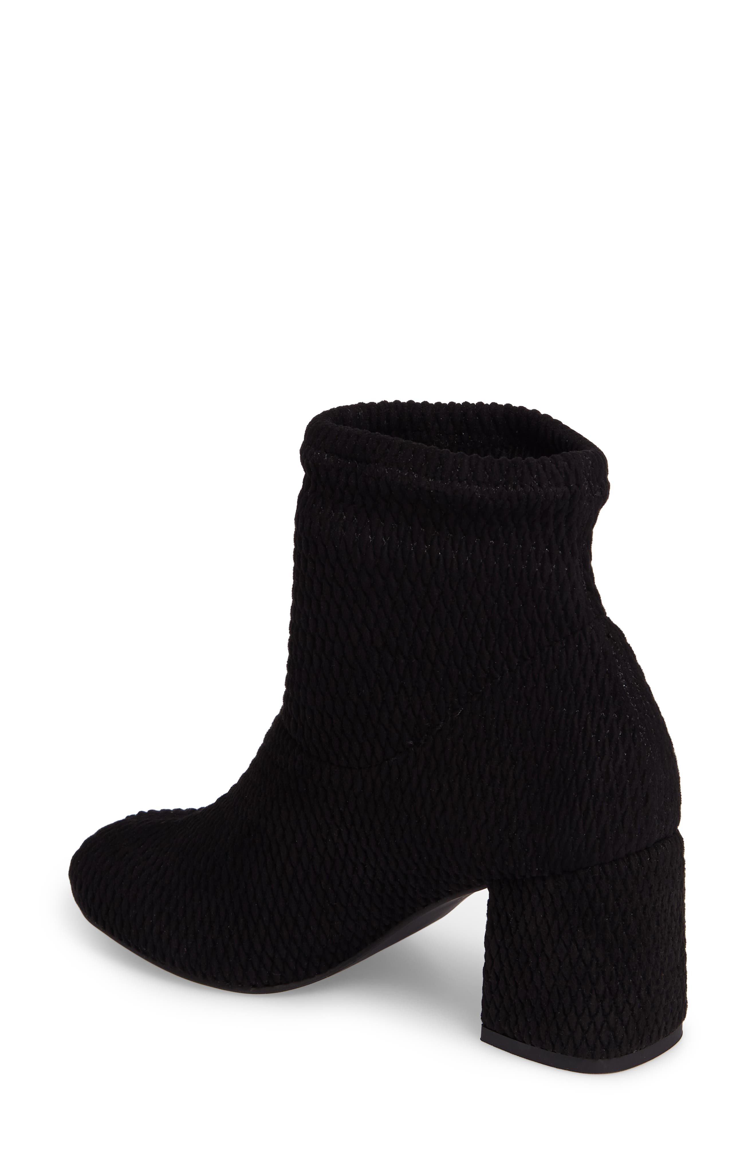 Ad Lib Sock Bootie,                             Alternate thumbnail 2, color,                             Black Fabric