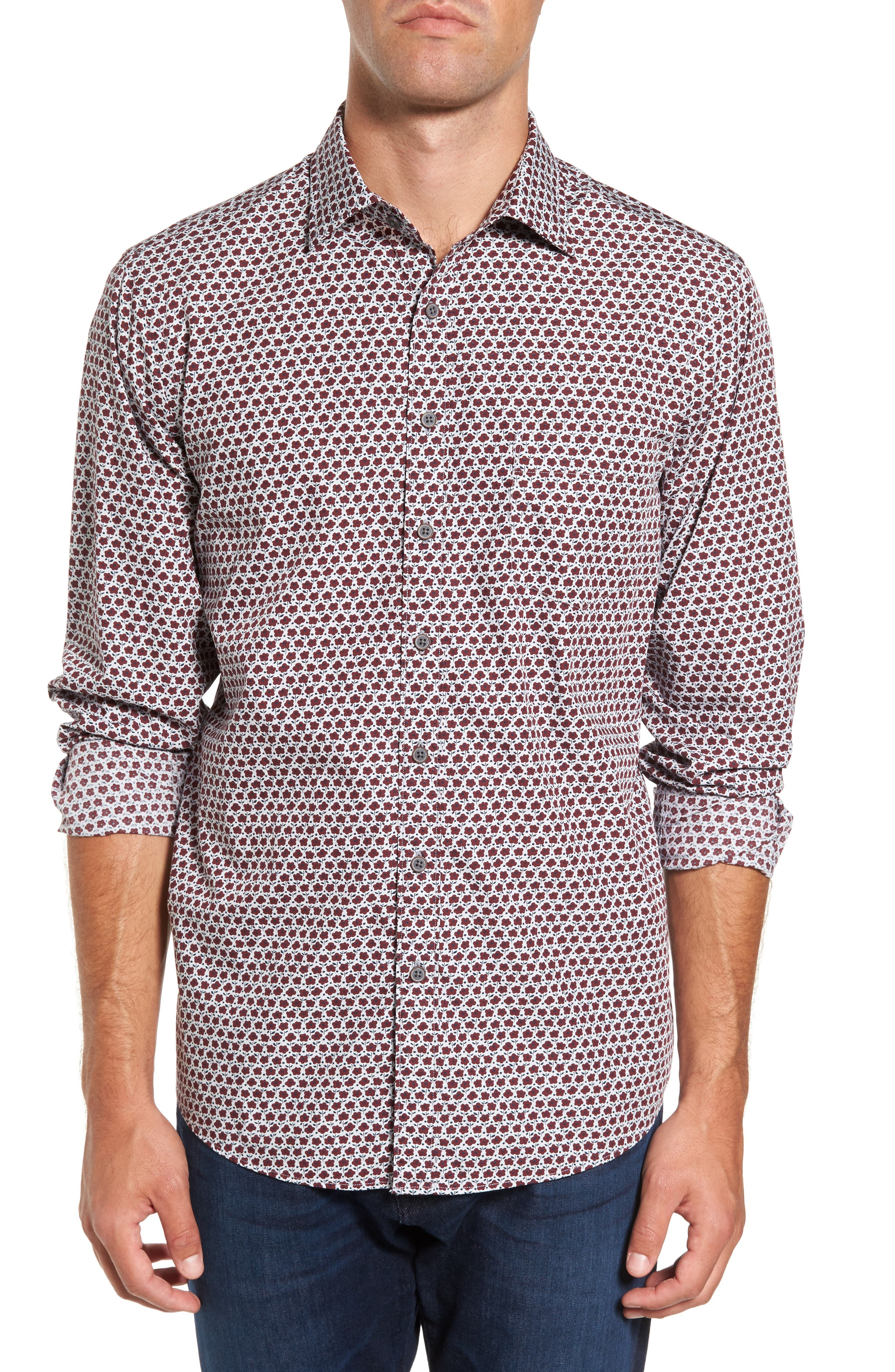 Rodd & Gunn Original Fit Floral Print Sport Shirt