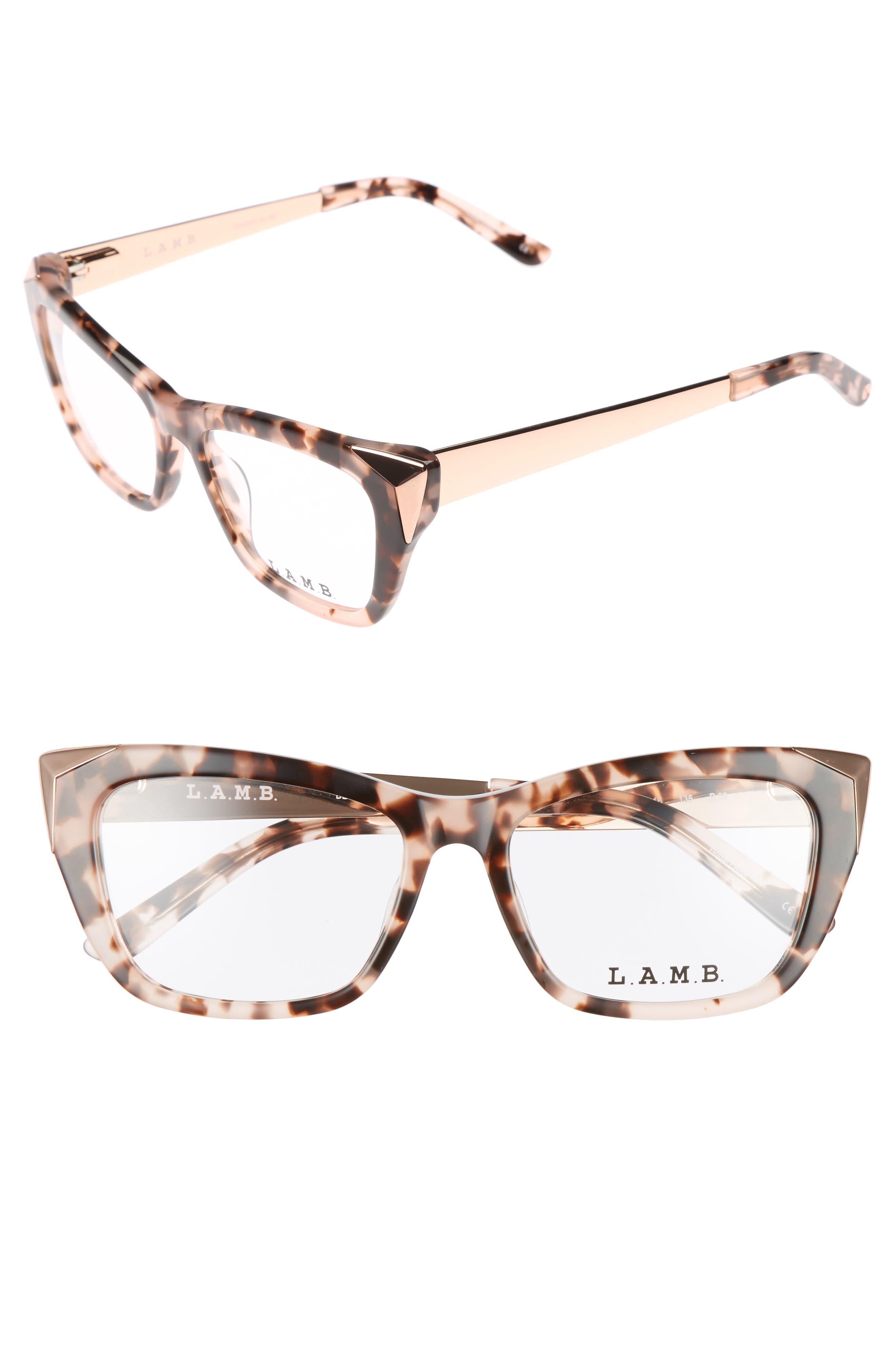 L.A.M.B. 52mm Optical Cat Eye Glasses