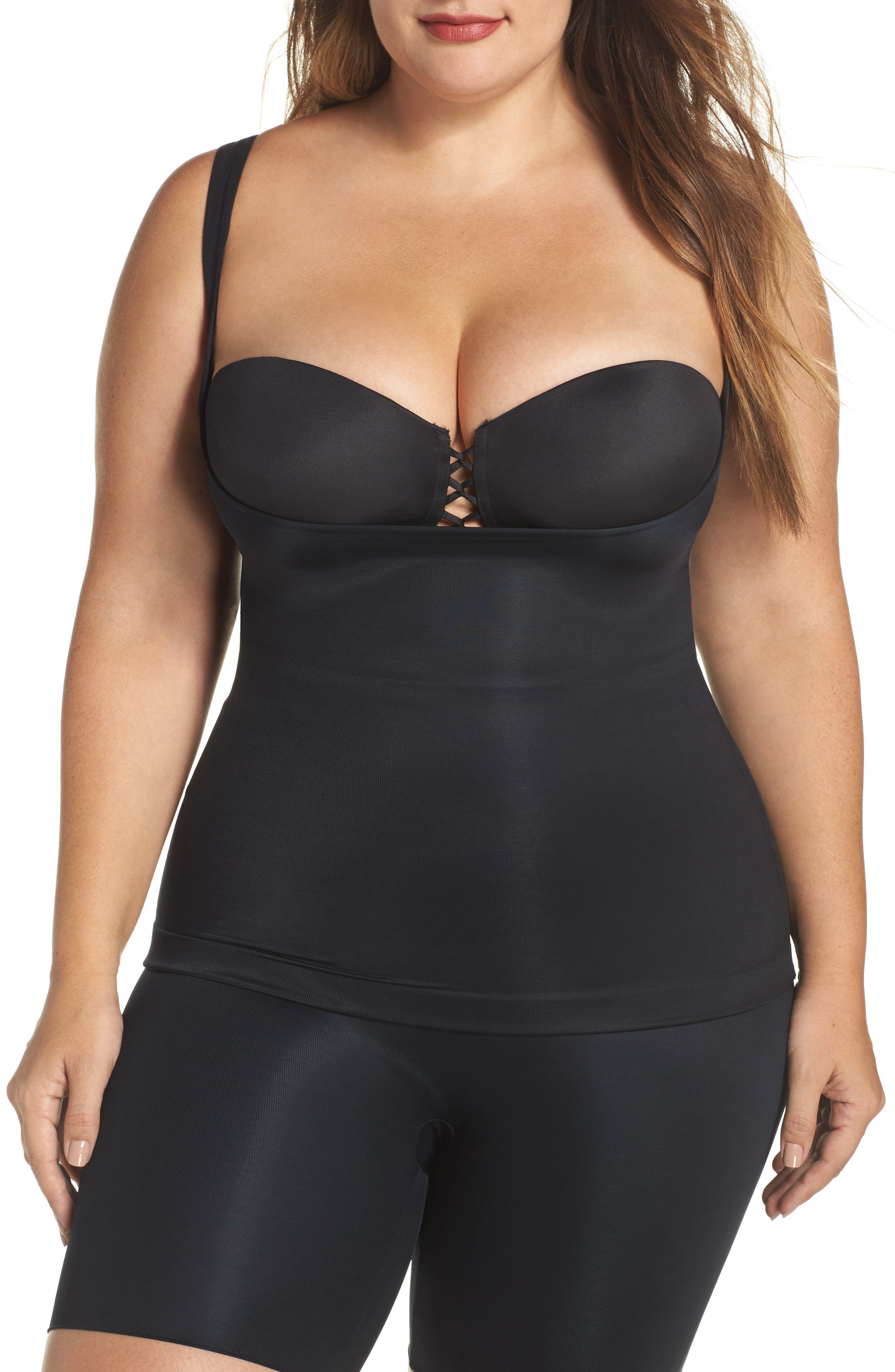 SPANX® Power Conceal-Her Open Bust Camisole (Plus Size)