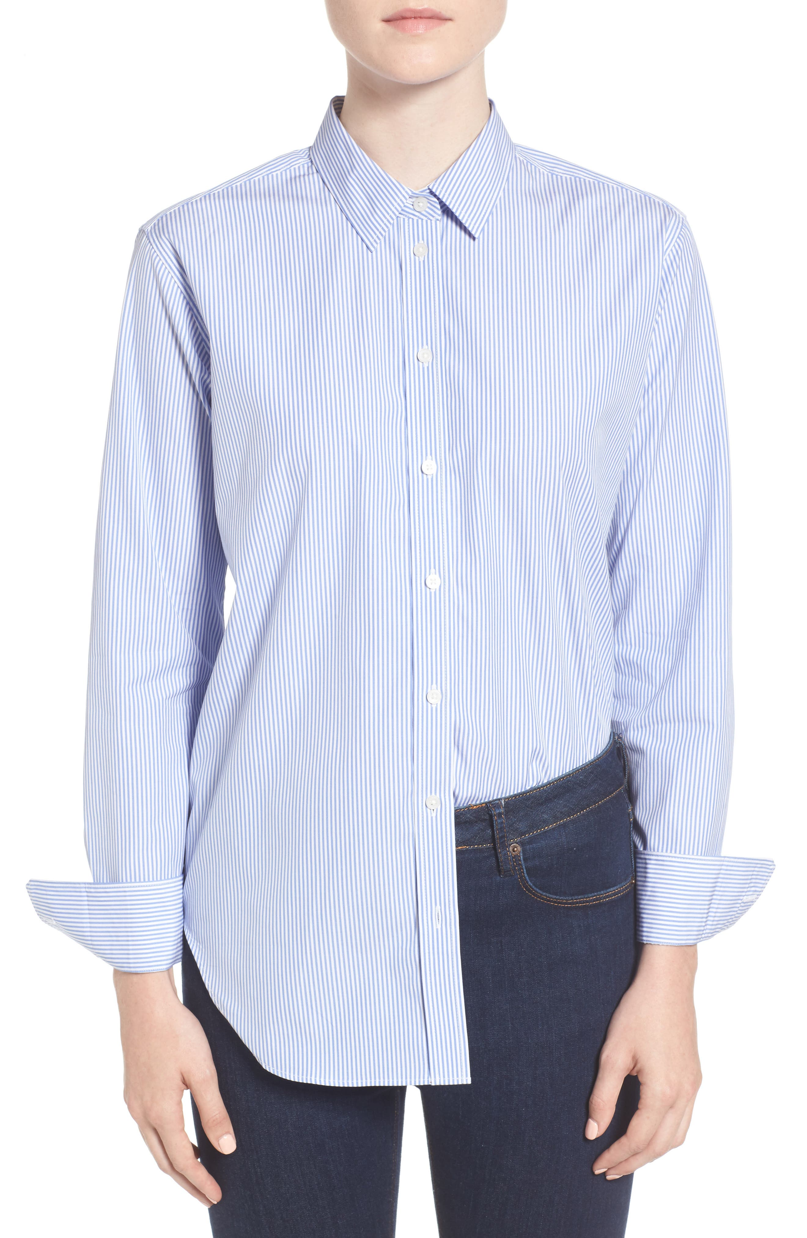Main Image - Everlane The Relaxed Poplin Shirt
