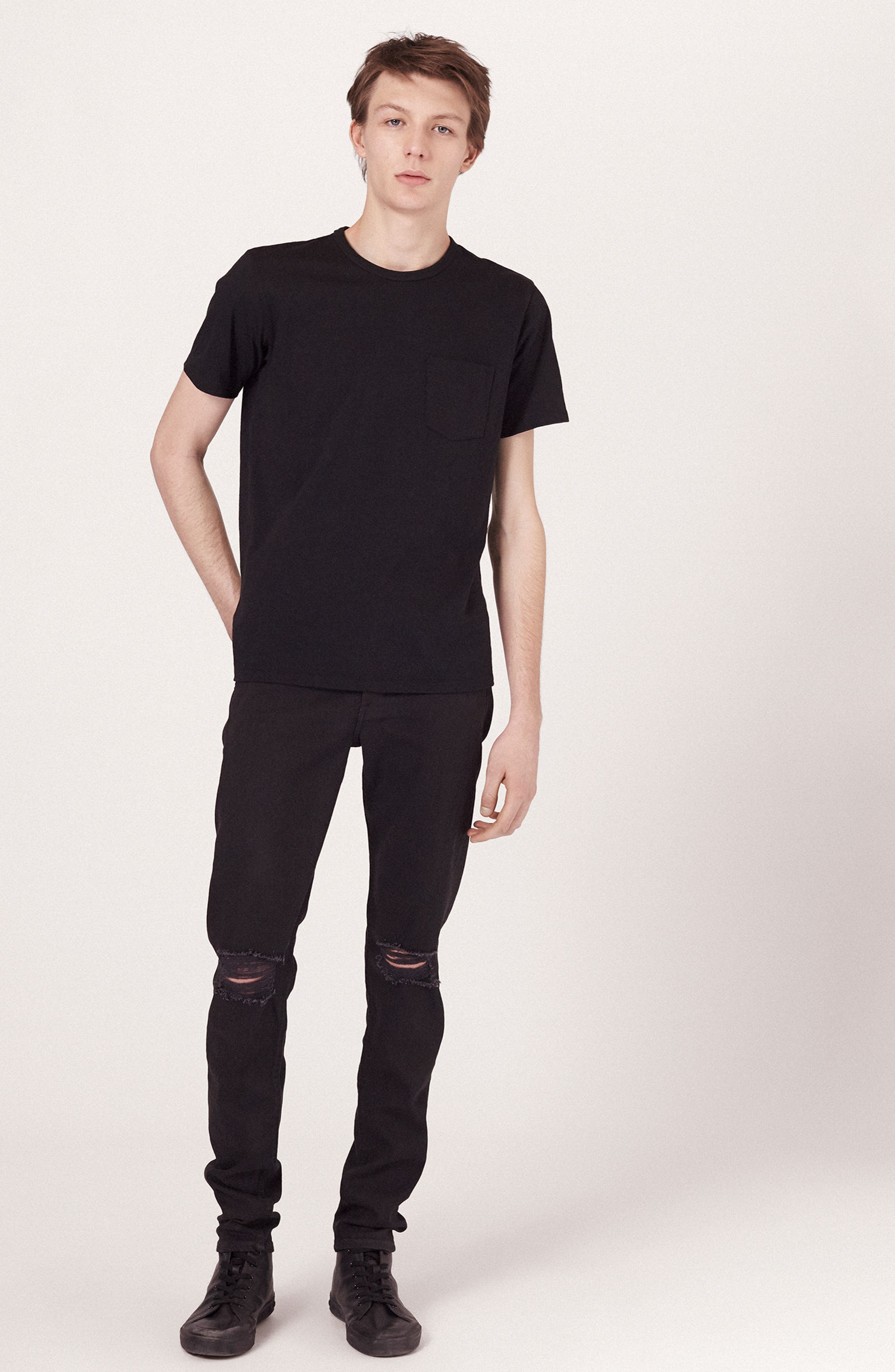 Alternate Image 6  - rag & bone Fit 1 Skinny Fit Jeans