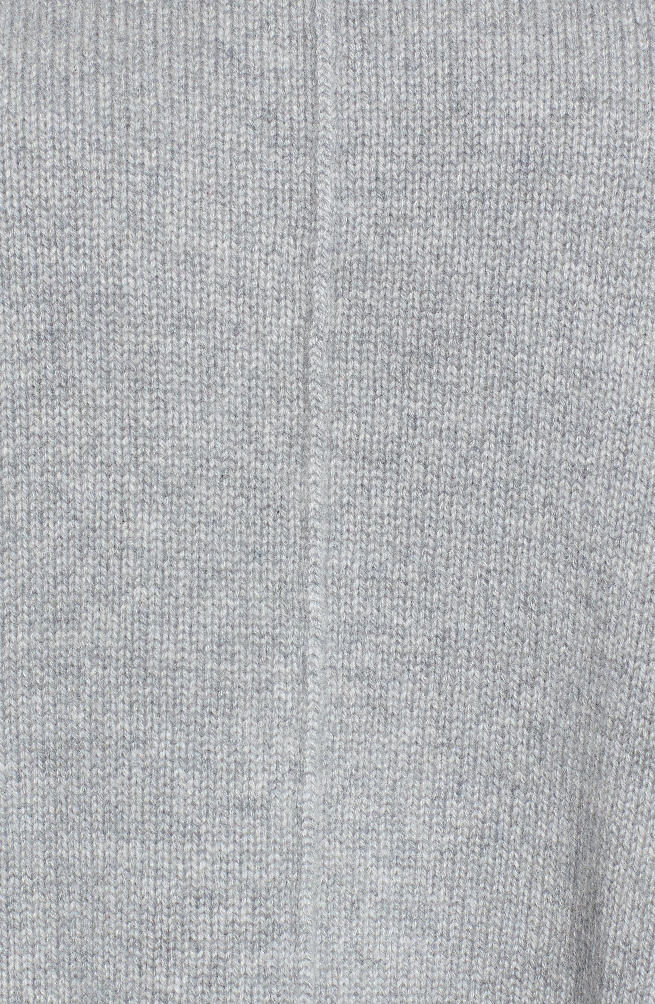 Alternate Image 5  - Nordstrom Signature Side Slit Cashmere Sweater